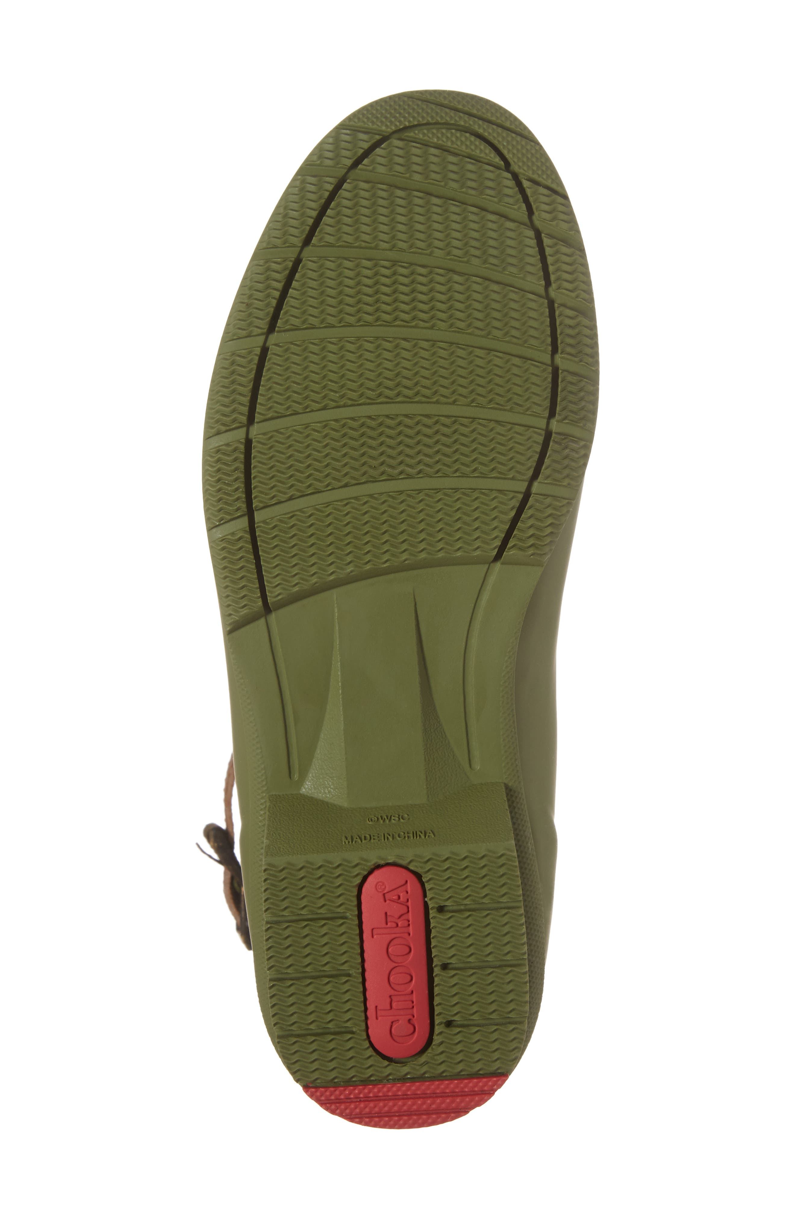 City Solid Mid Height Rain Boot,                             Alternate thumbnail 6, color,                             Olive