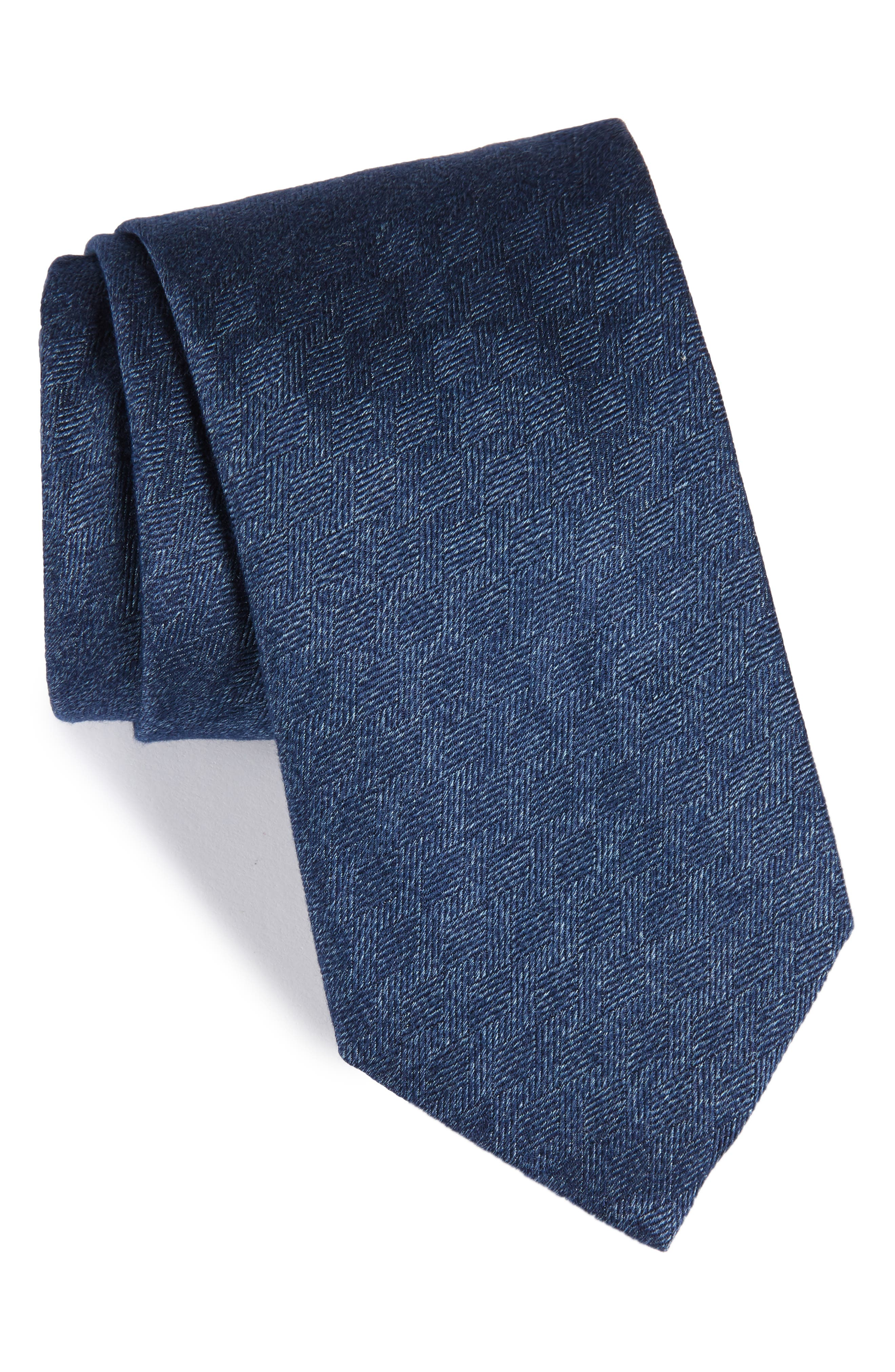 Alternate Image 1 Selected - Brioni Solid Silk Tie