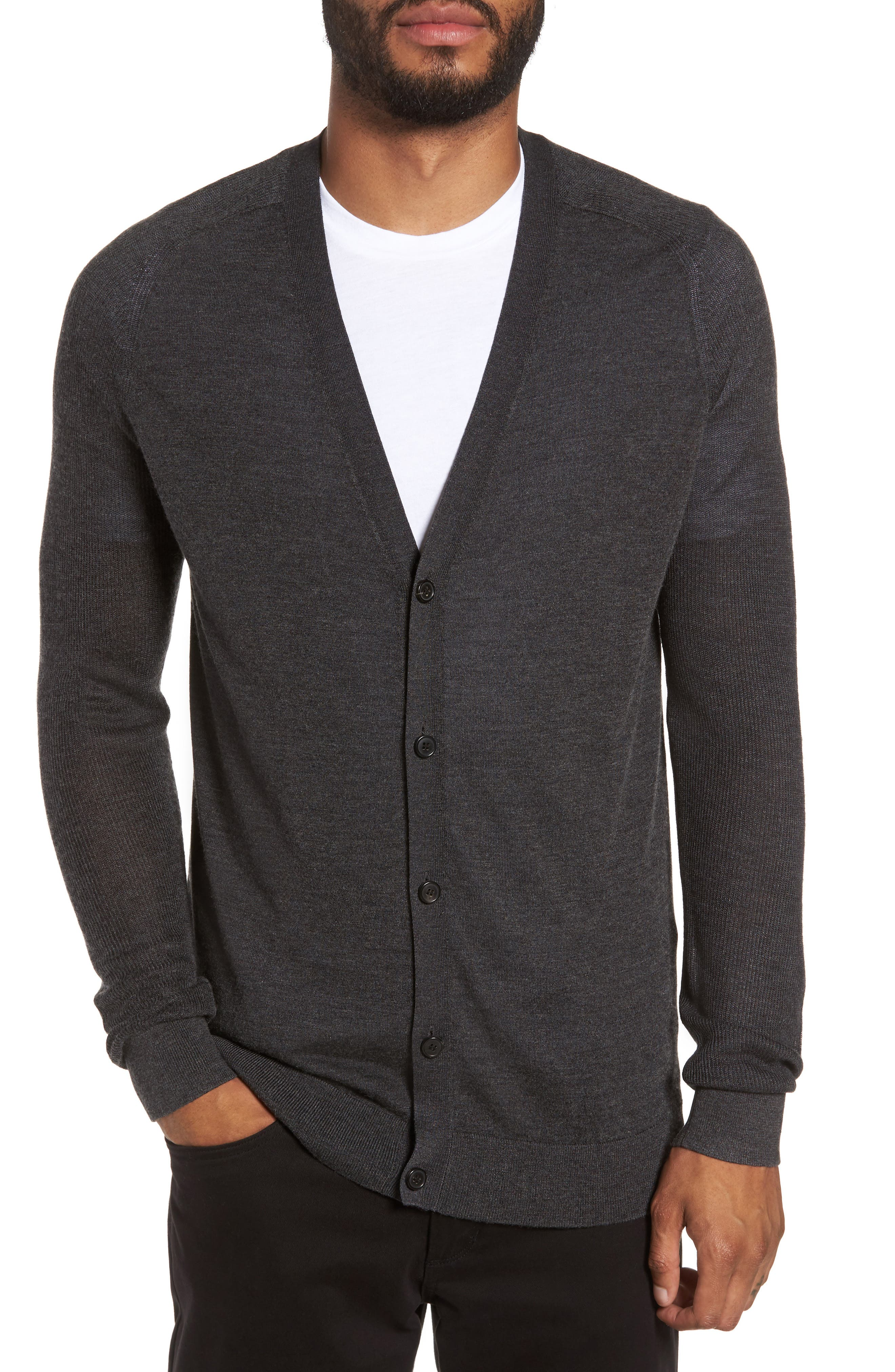 Theory Banes Admiral Silk & Cashmere Cardigan