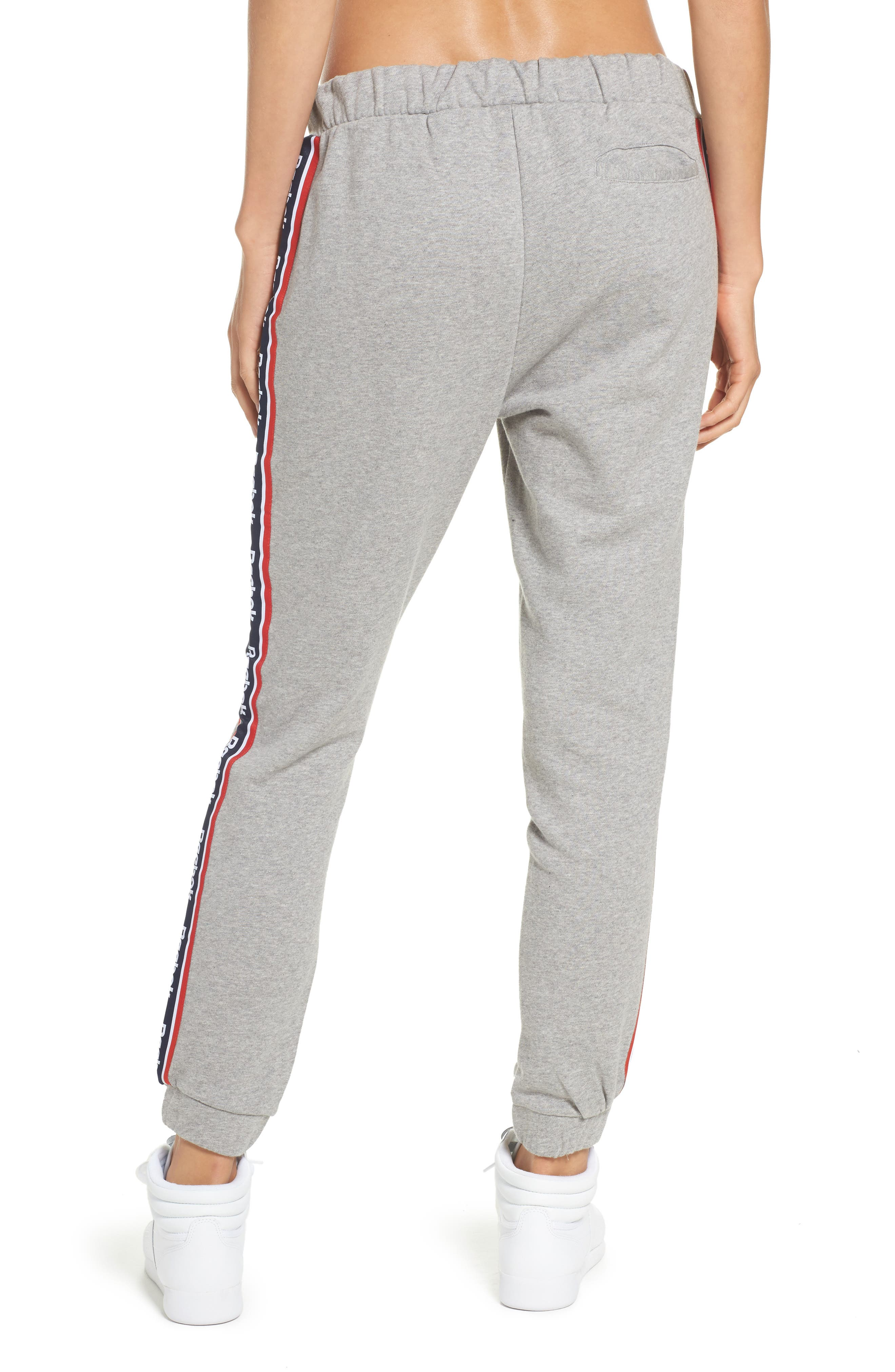 French Terry Pants,                             Alternate thumbnail 2, color,                             Medium Grey Heather