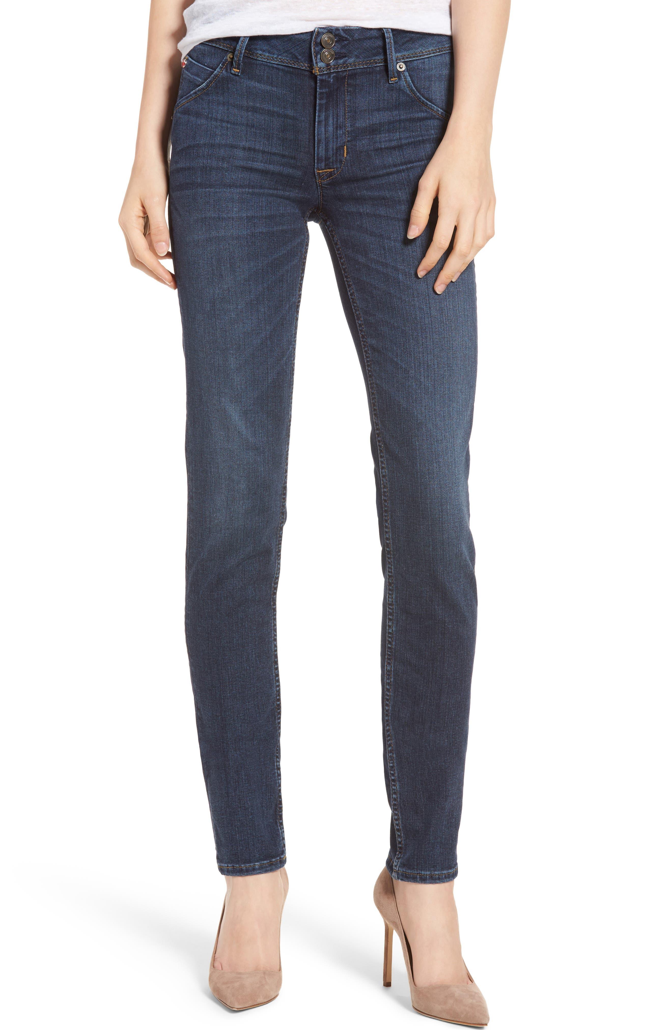 Main Image - Hudson Jeans Collin Skinny Jeans (Spellbound)