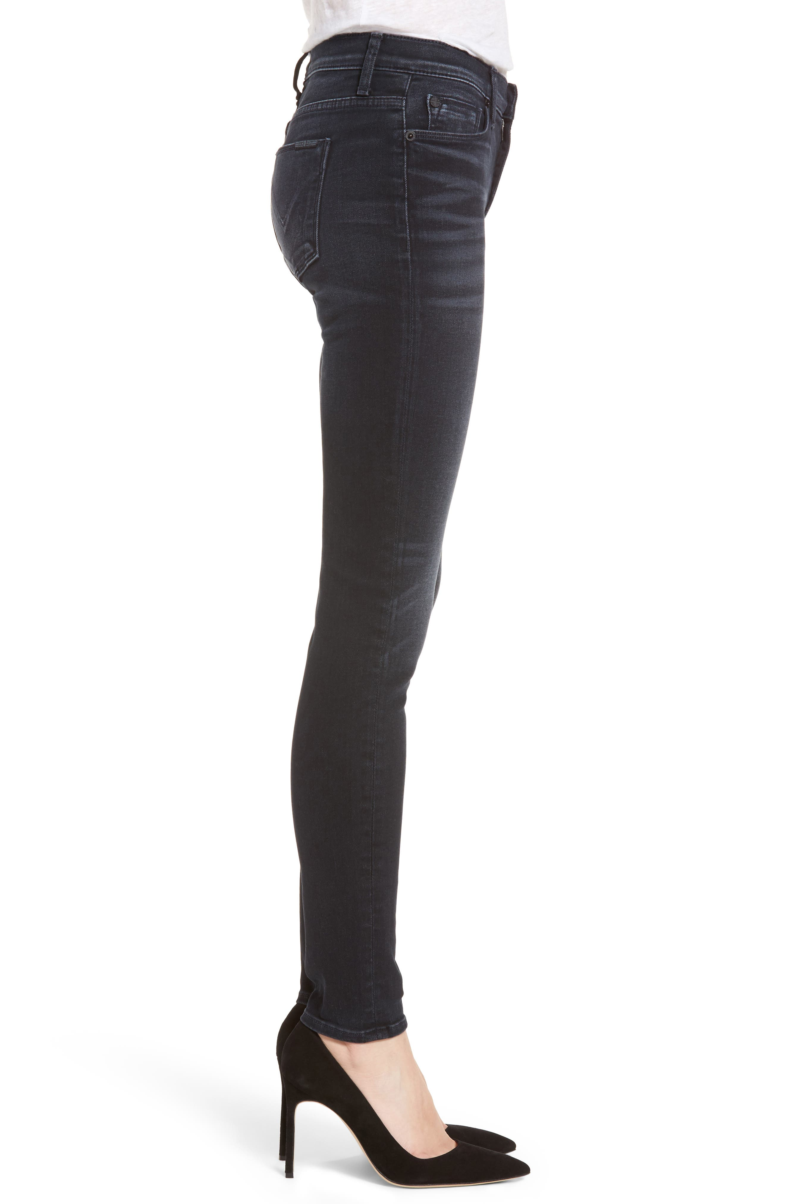 Nico Super Skinny Jeans,                             Alternate thumbnail 3, color,                             Soft Shock