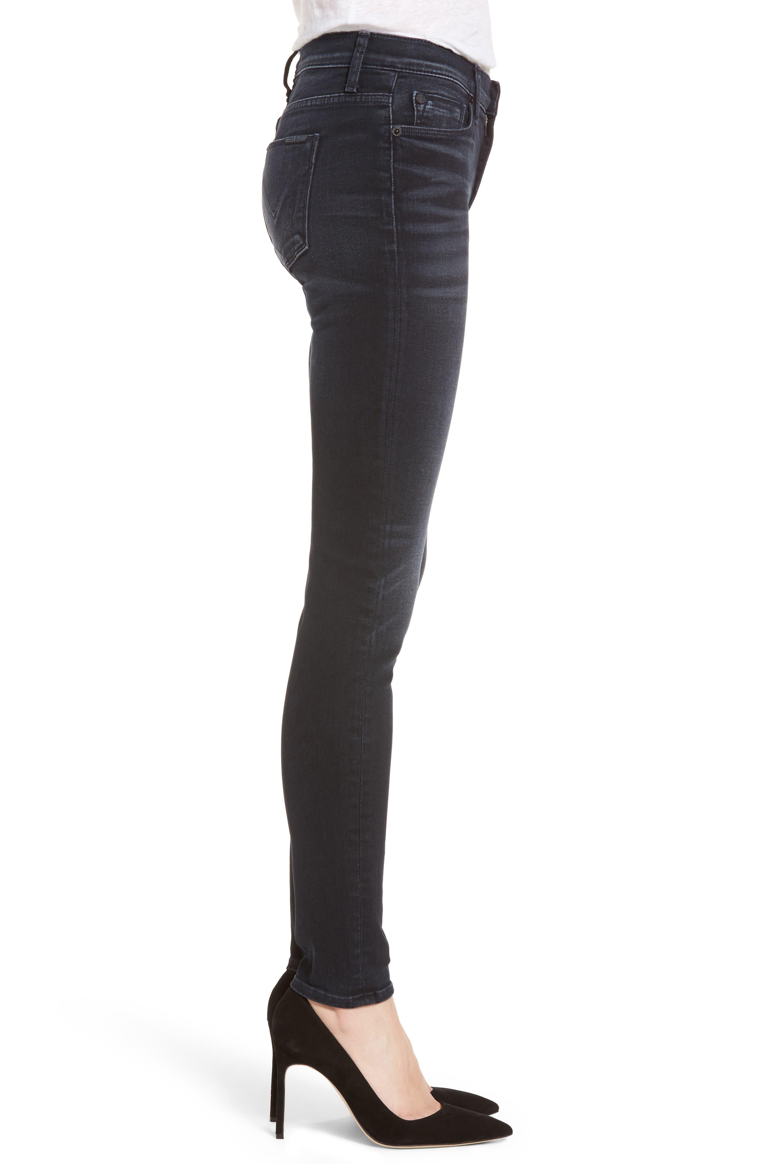 Alternate Image 3  - Hudson Jeans Nico Super Skinny Jeans (Soft Shock)
