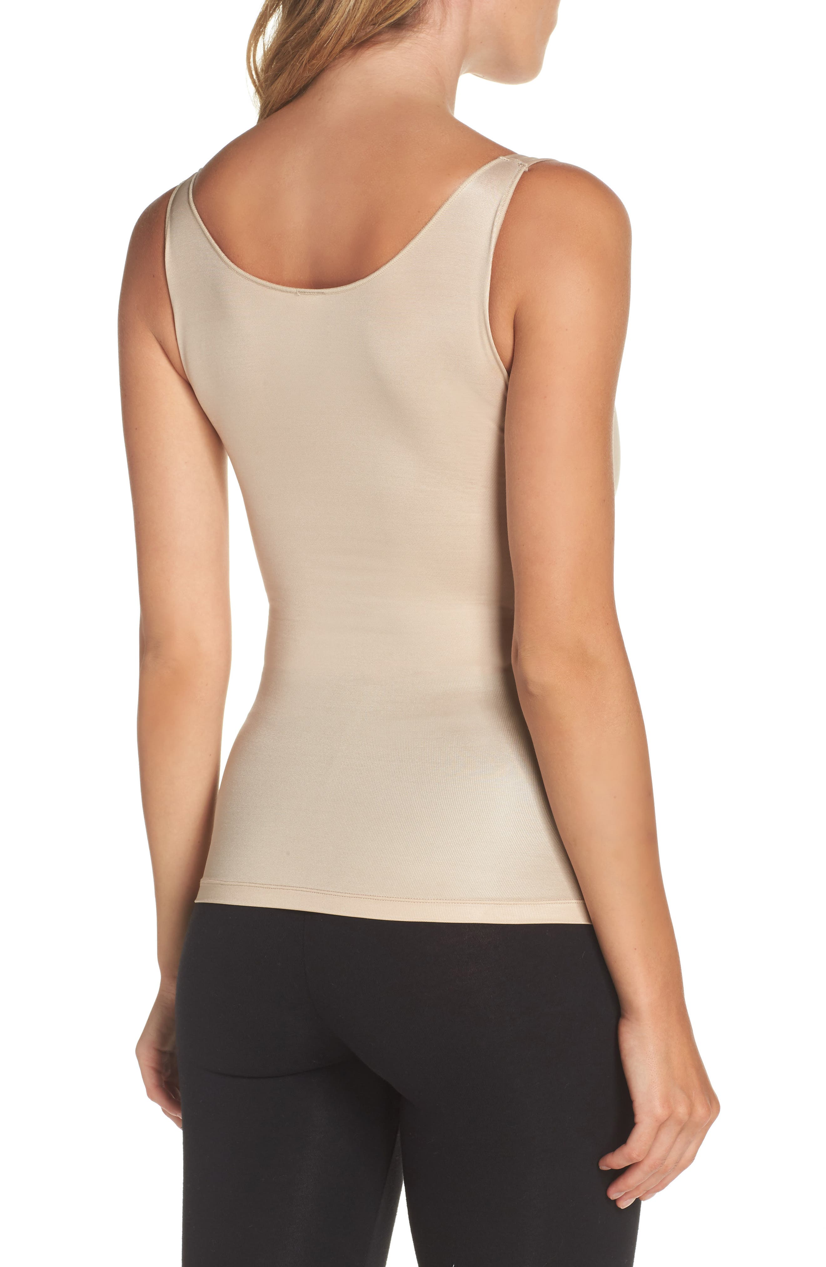 Power Conceal-Her Open Bust Camisole,                             Alternate thumbnail 2, color,                             Natural Glam