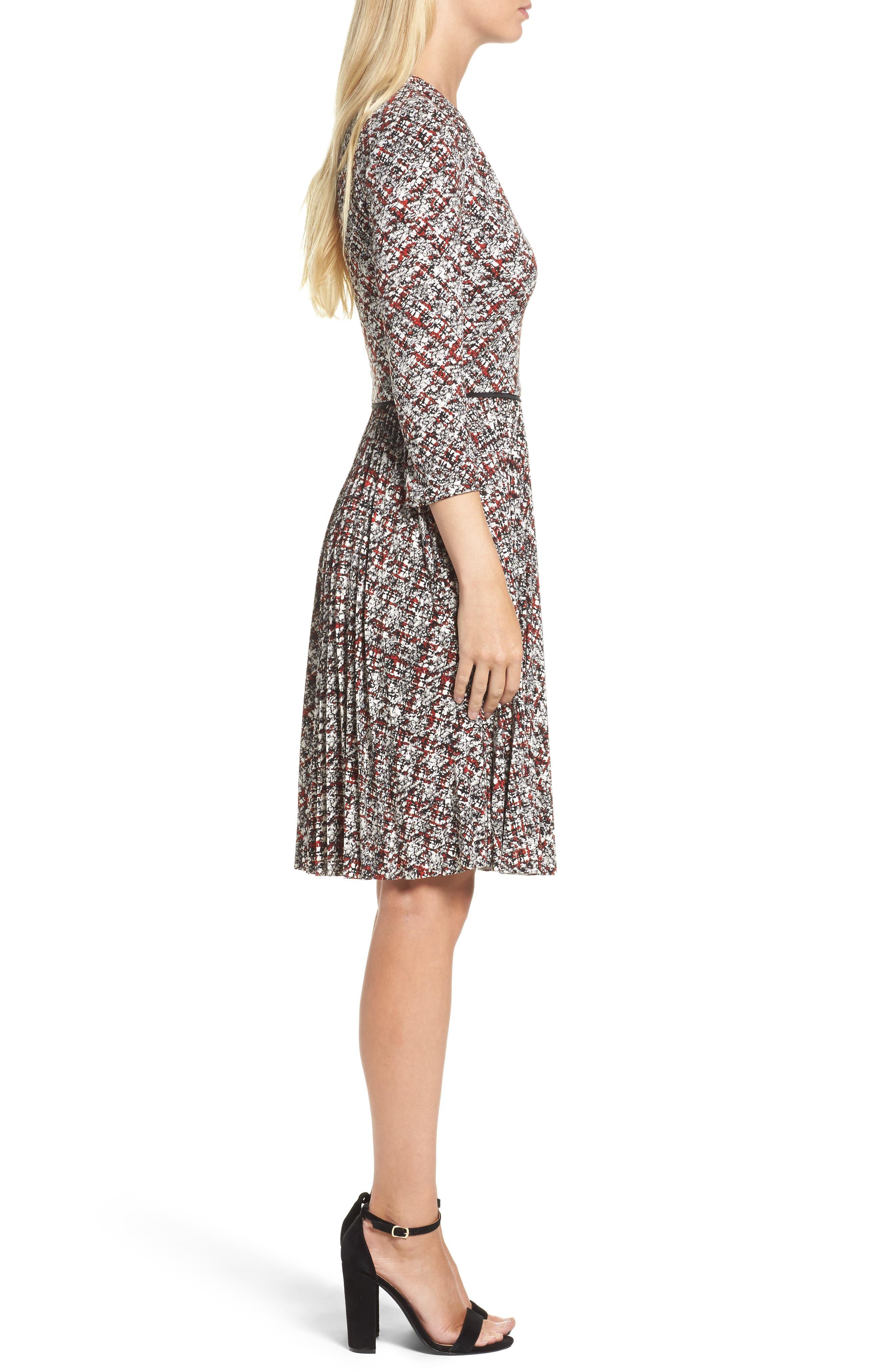 Alternate Image 3  - Maggy London Fit & Flare Dress (Regular & Petite)