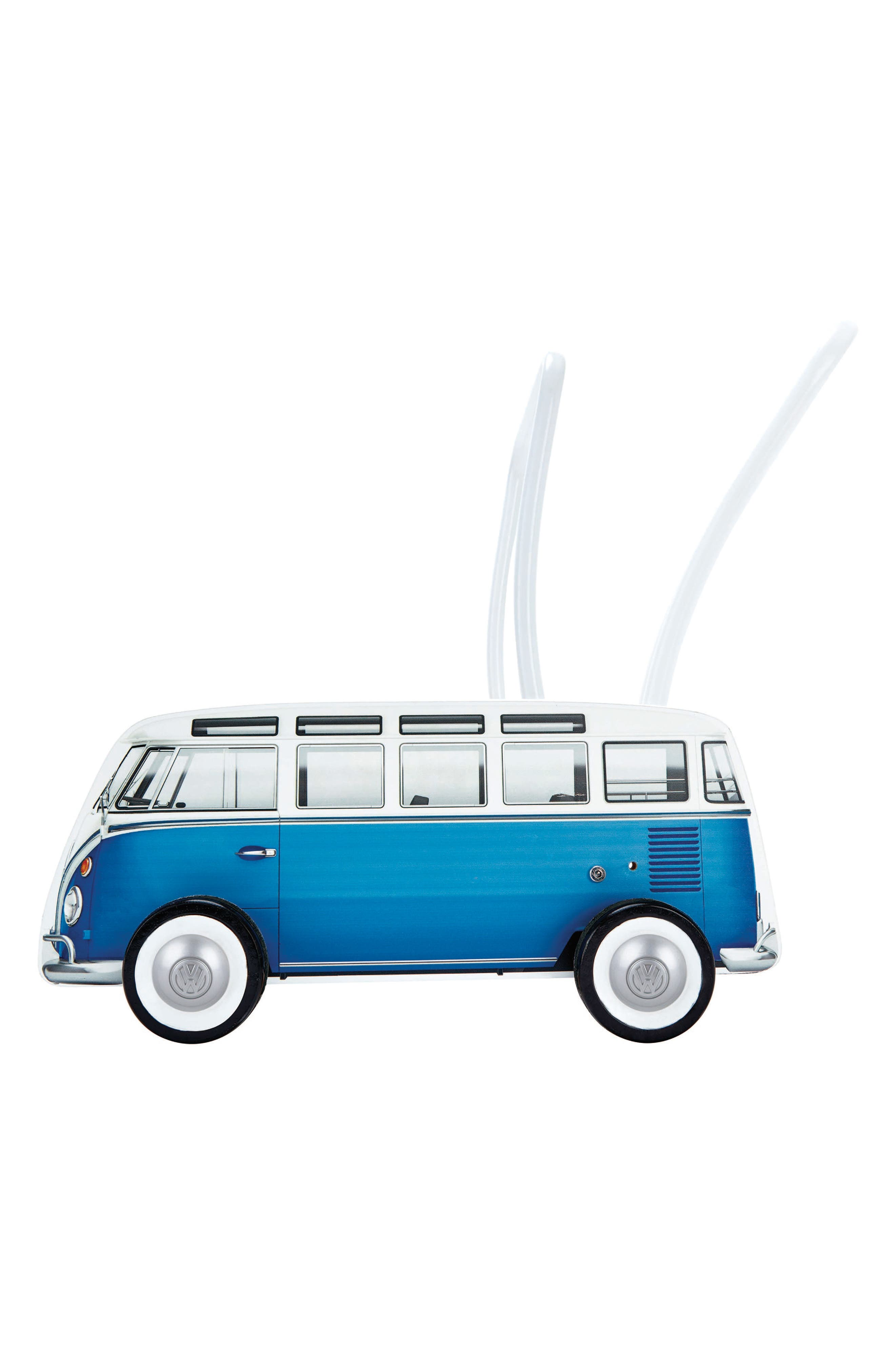 Classical VW Push Bus,                             Alternate thumbnail 5, color,                             Blue