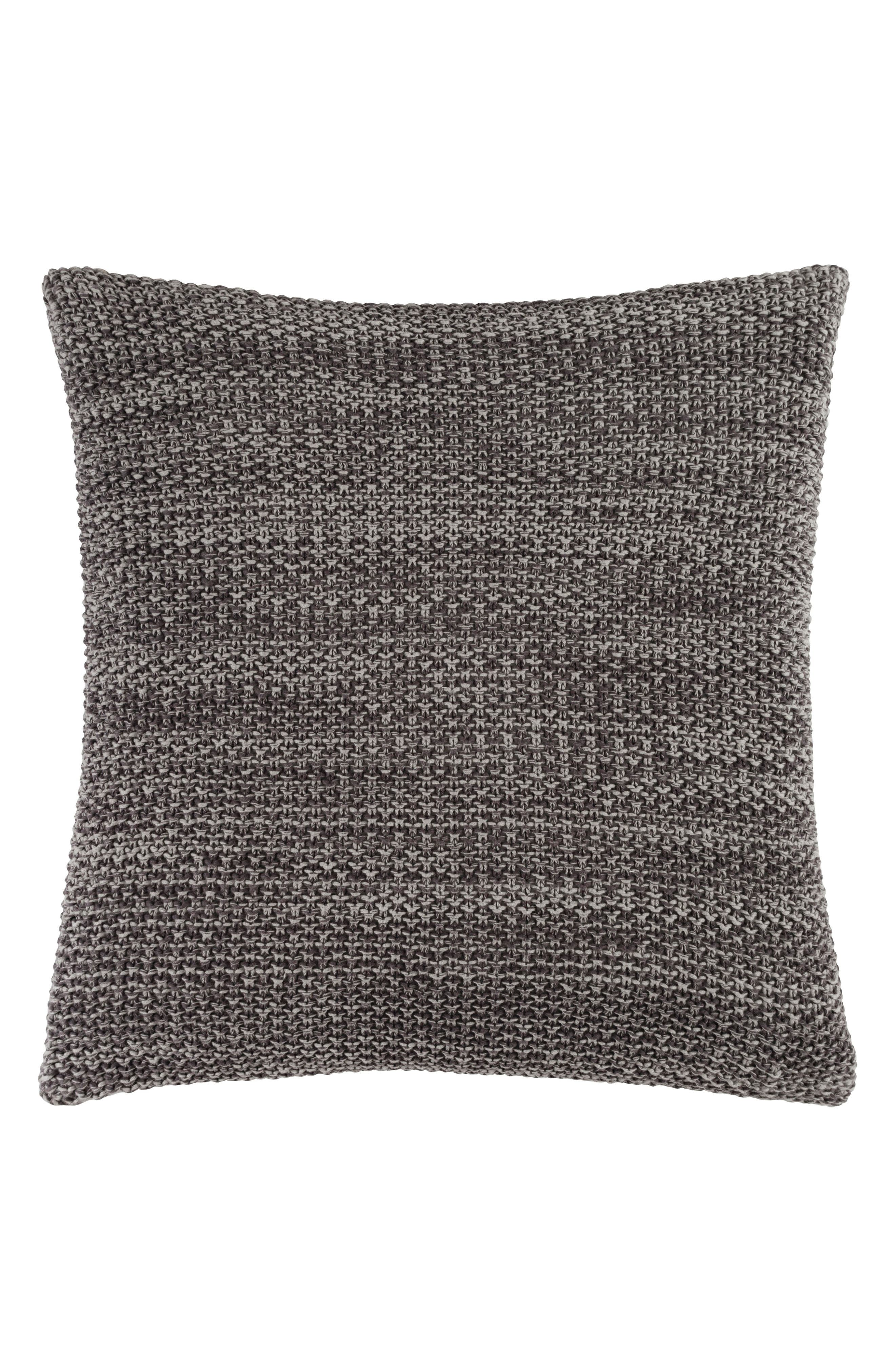 Orino Accent Pillow,                             Main thumbnail 1, color,                             Grey/ Charcoal