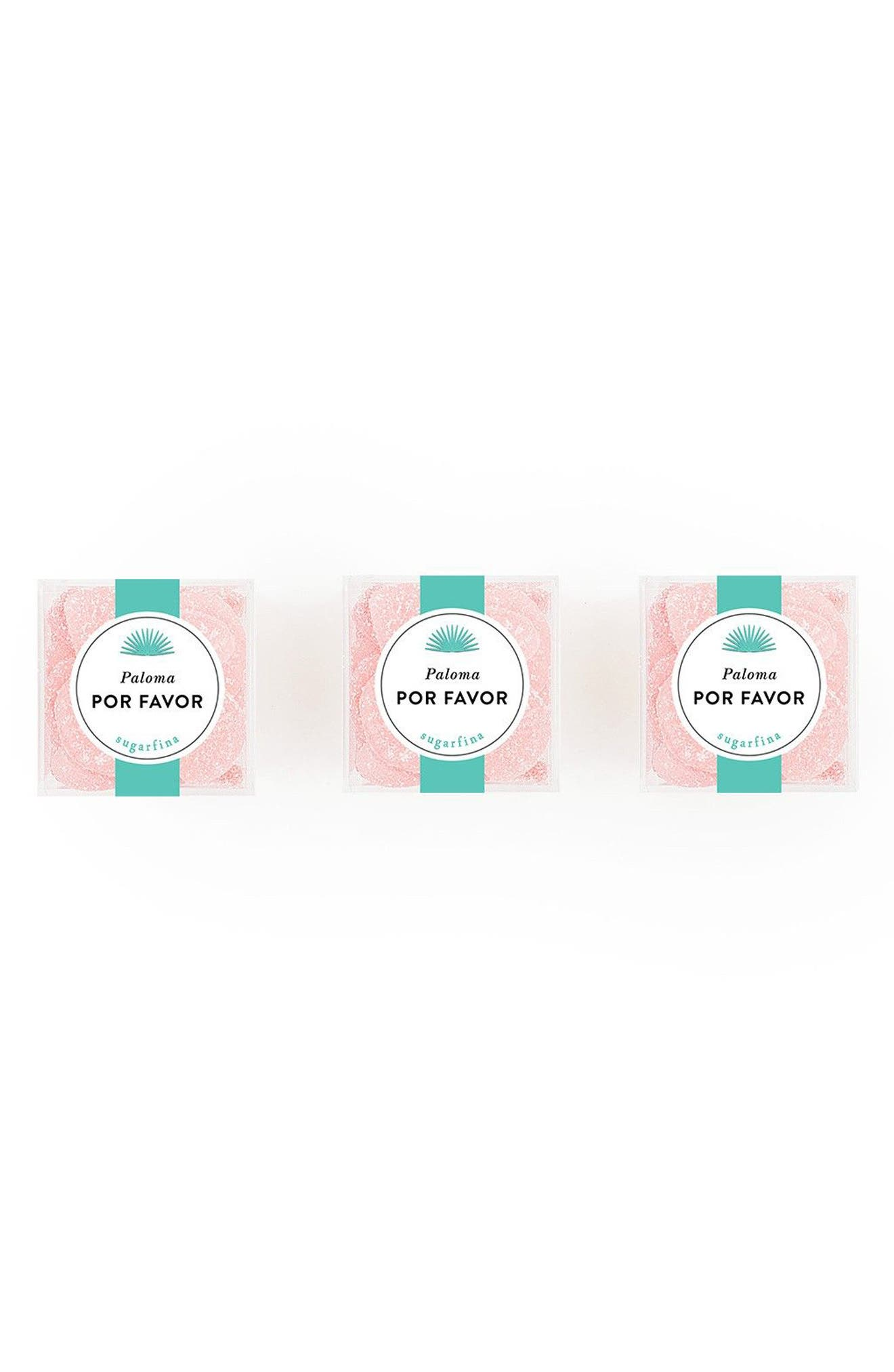 Alternate Image 1 Selected - sugarfina Casamigos - Paloma Por Favor Tequila Grapefruit Sours Gift Set