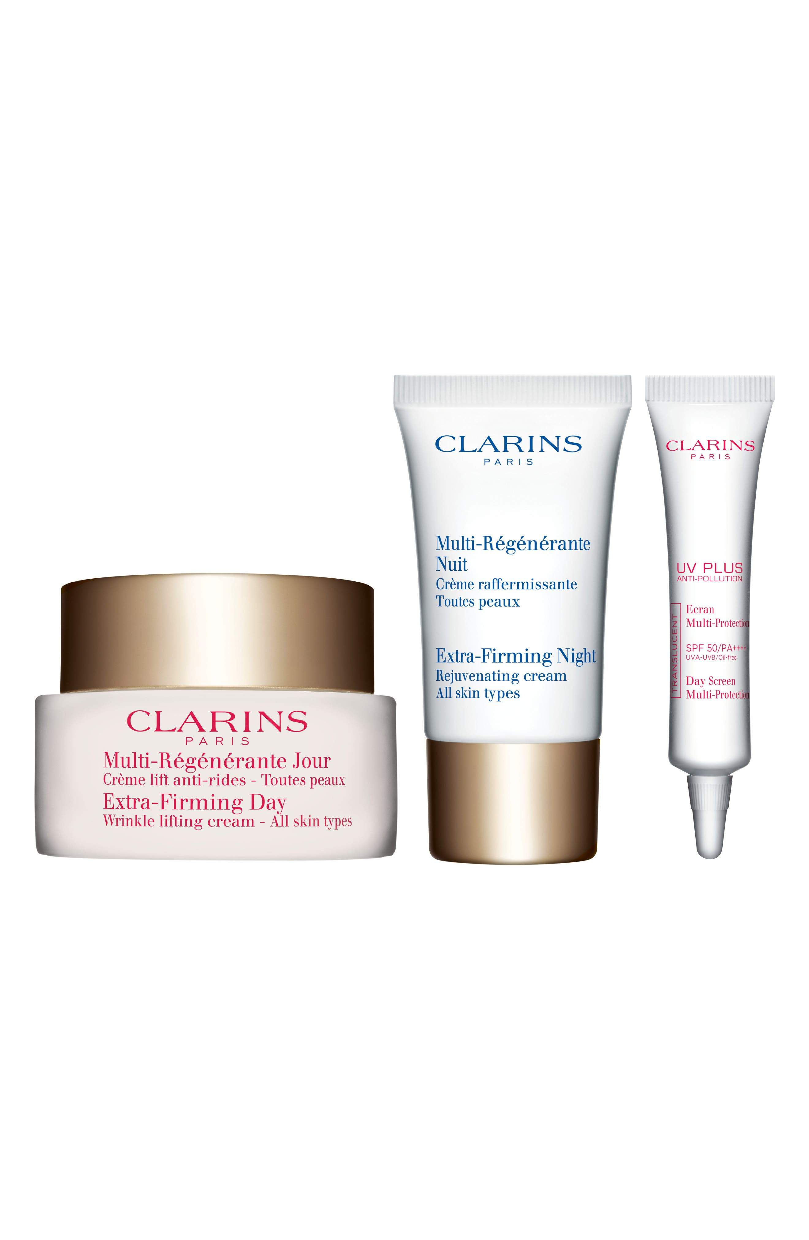 Alternate Image 1 Selected - Clarins Extra-Firming Trio (Over $121 Value)