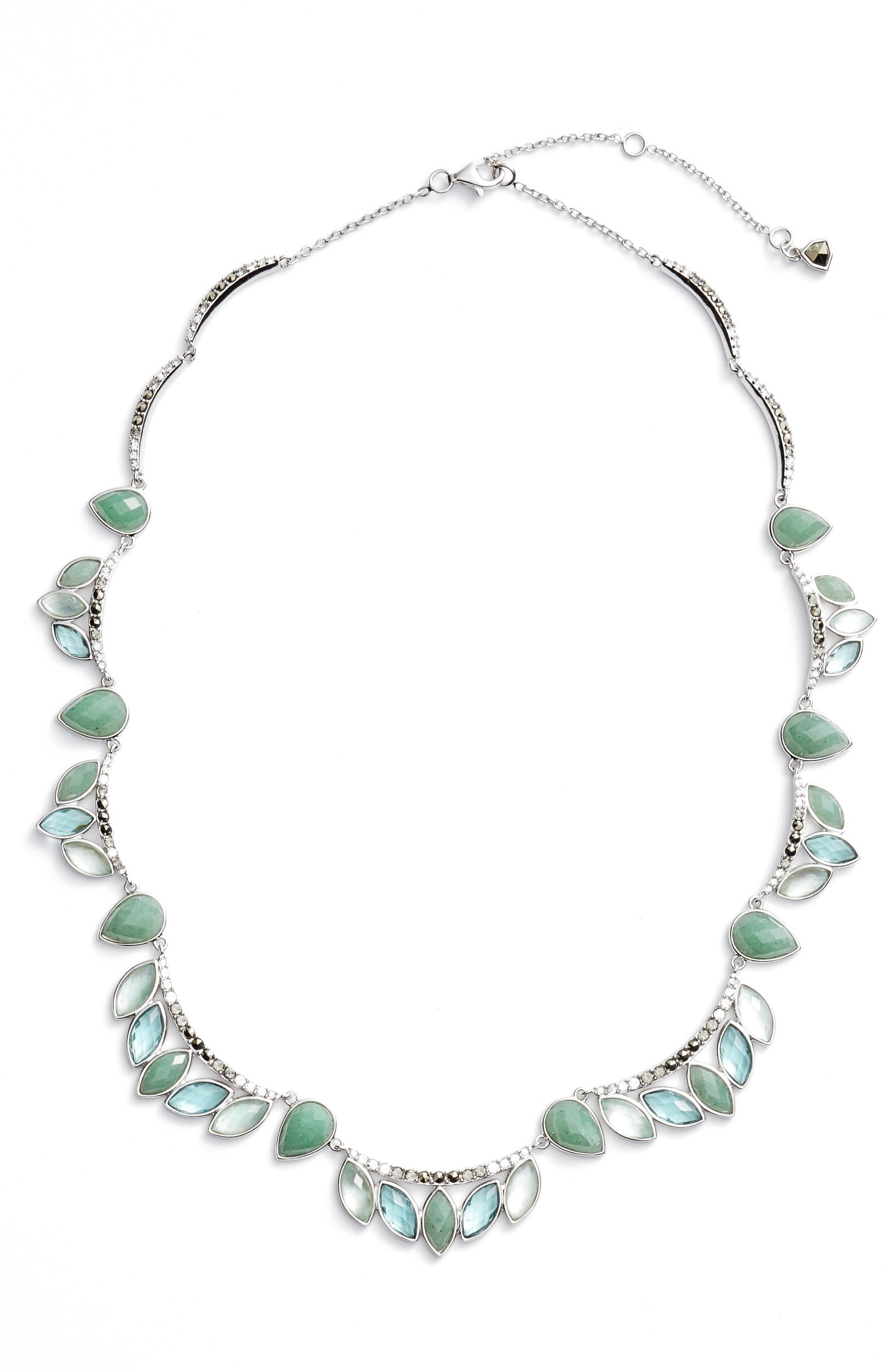 Judith Jack Lakeside Collar Necklace