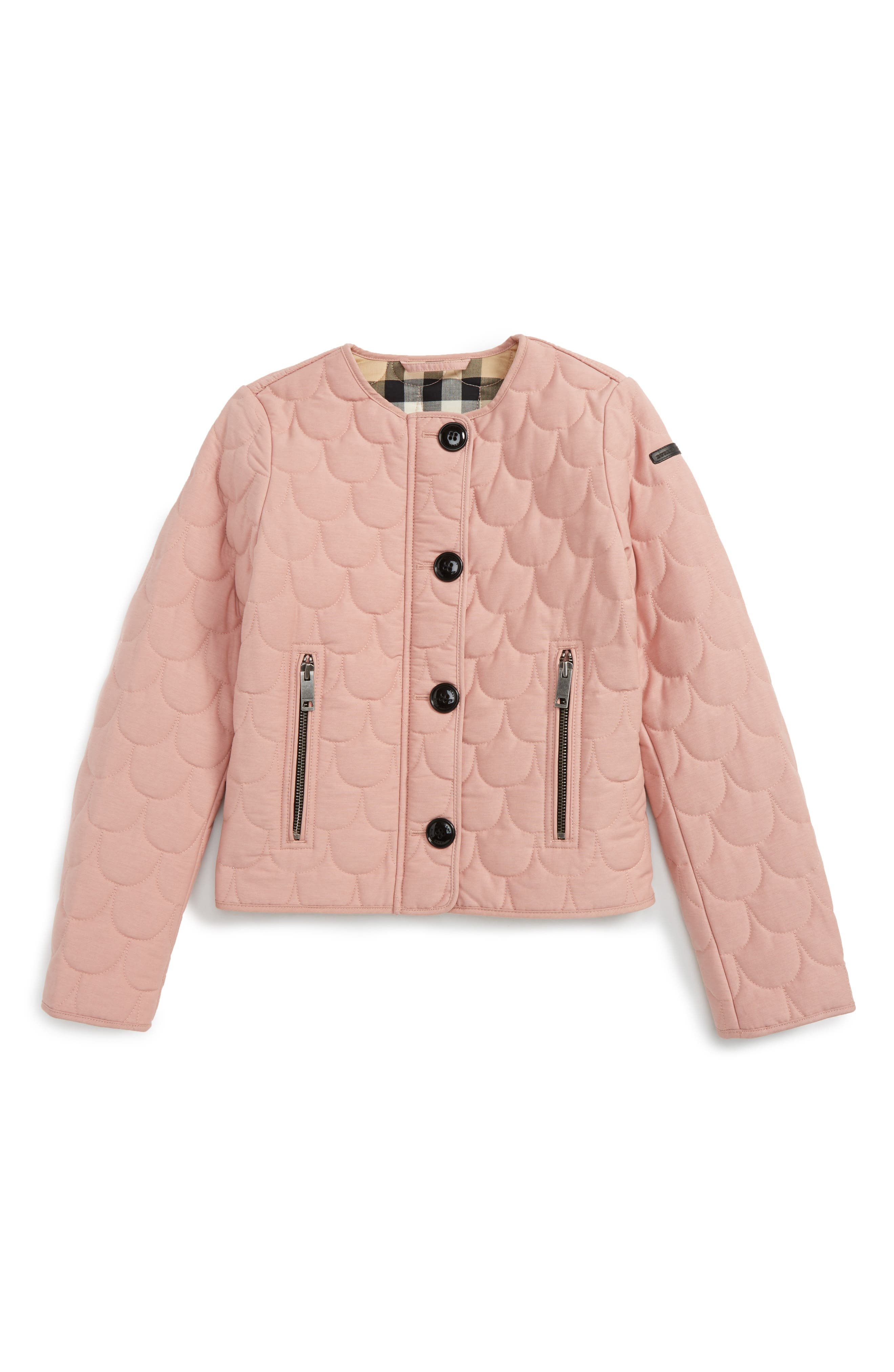 Burberry Mini Westwell Quilted Jacket (Little Girls & Big Girls)