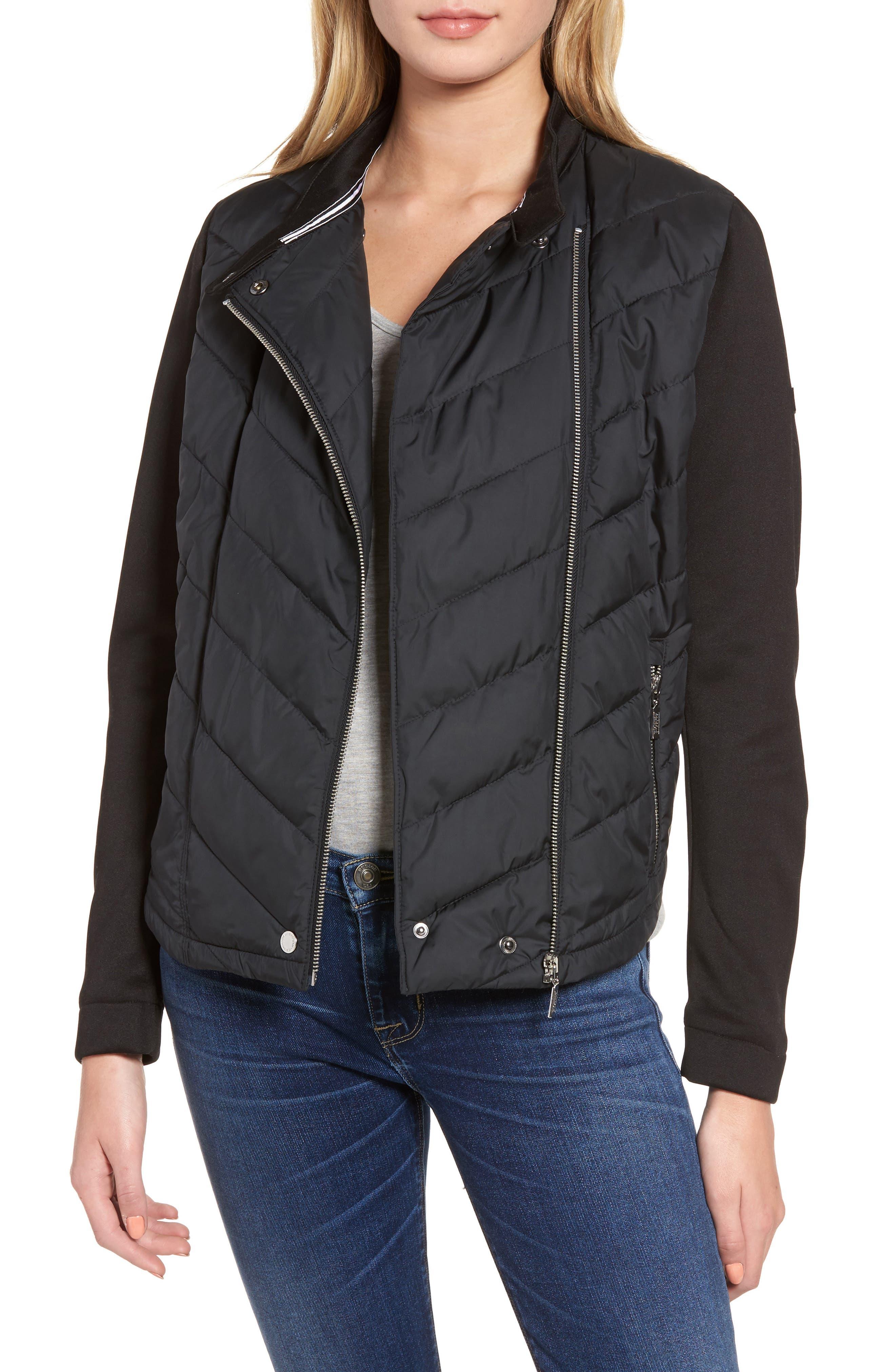 Barbour Dunnet Sweatshirt Sleeve Jacket