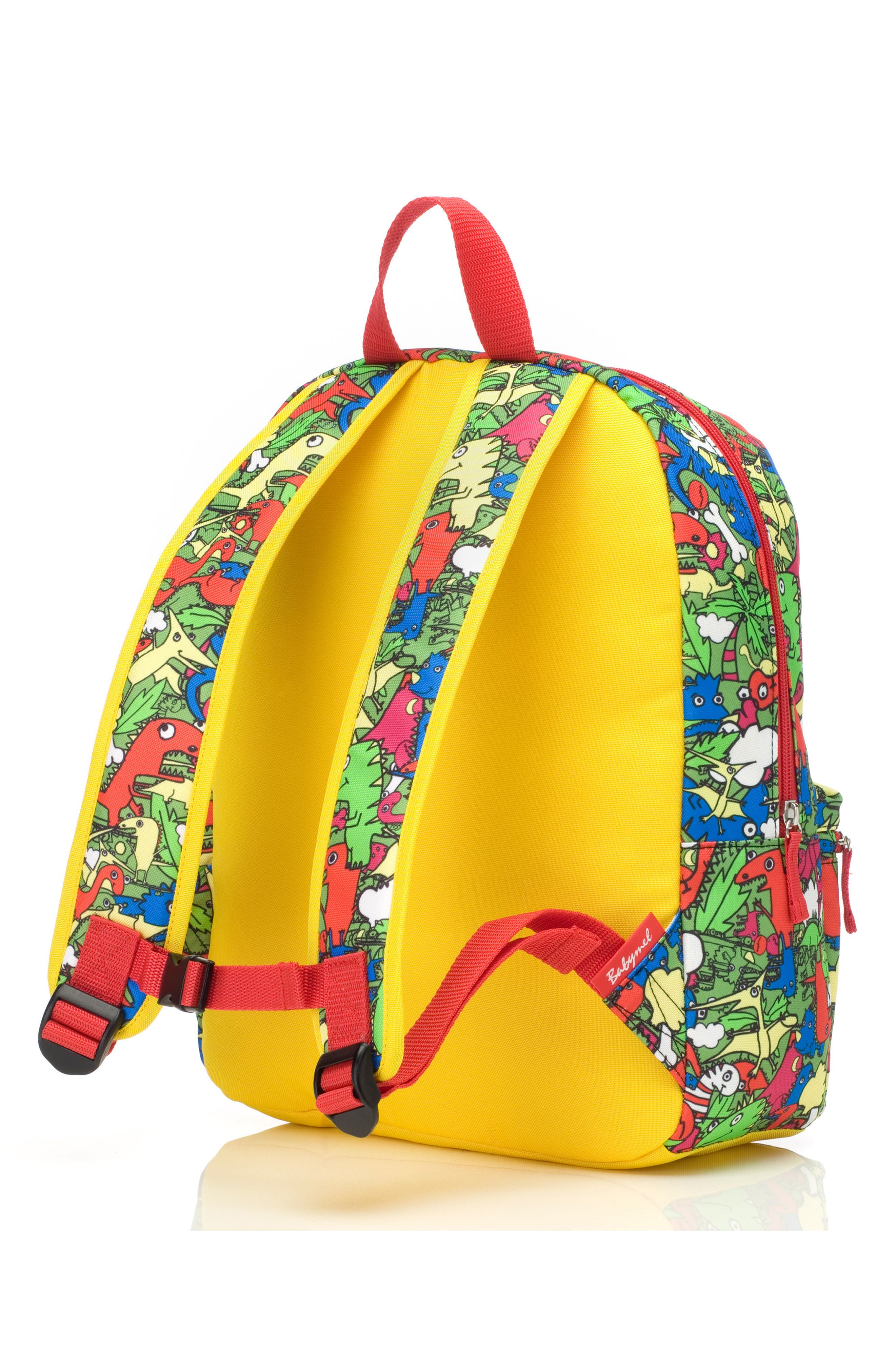 Zip & Zoe Junior Backpack Set,                             Alternate thumbnail 4, color,                             Dino Multi/ Dylan