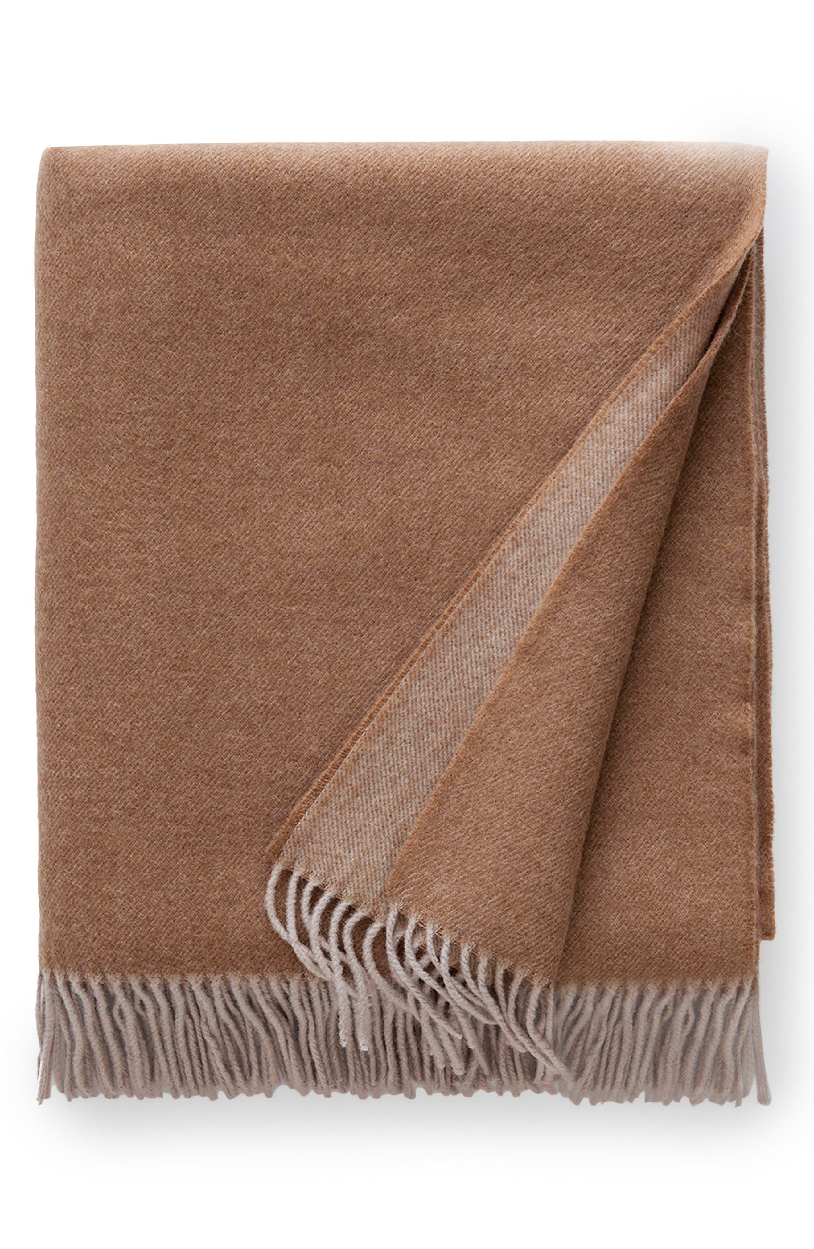 Alternate Image 1 Selected - SFERRA Tartini Merino Wool Throw