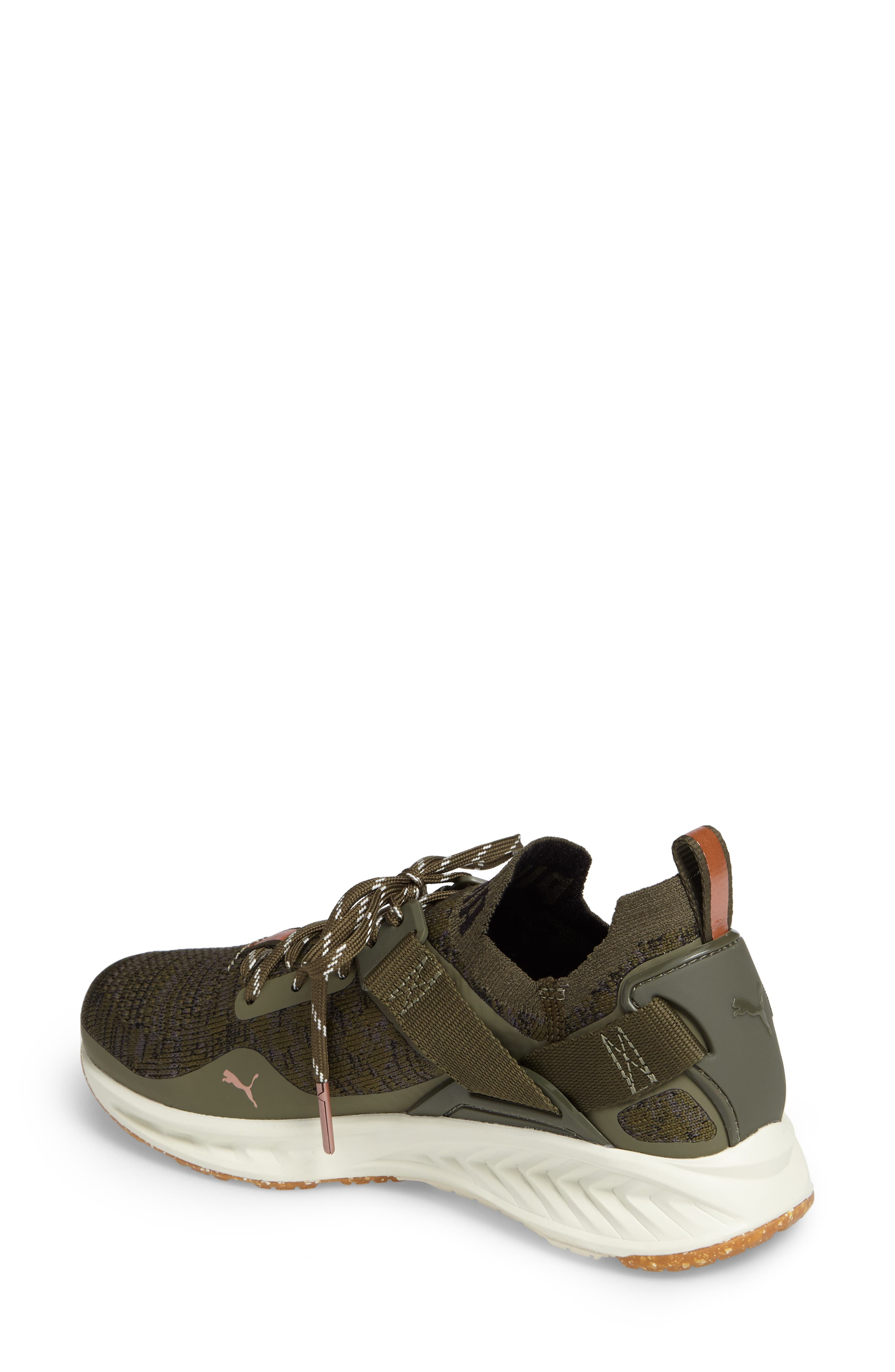 IGNITE evoKNIT Low Sneaker,                             Alternate thumbnail 2, color,                             Olive/ Black/ Quiet Shade
