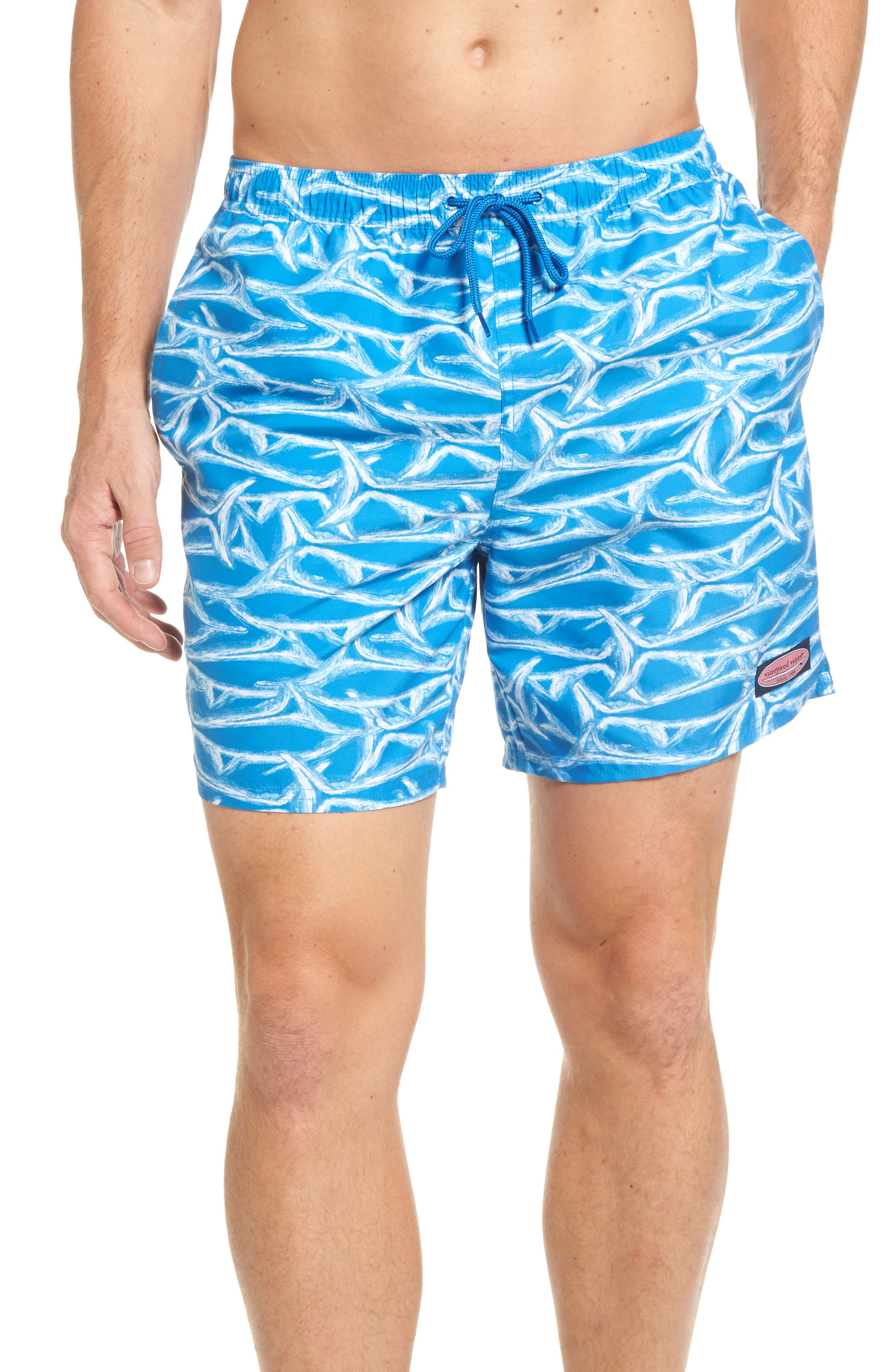 vineyard vines Brushed Marlin Chappy Swim Trunks