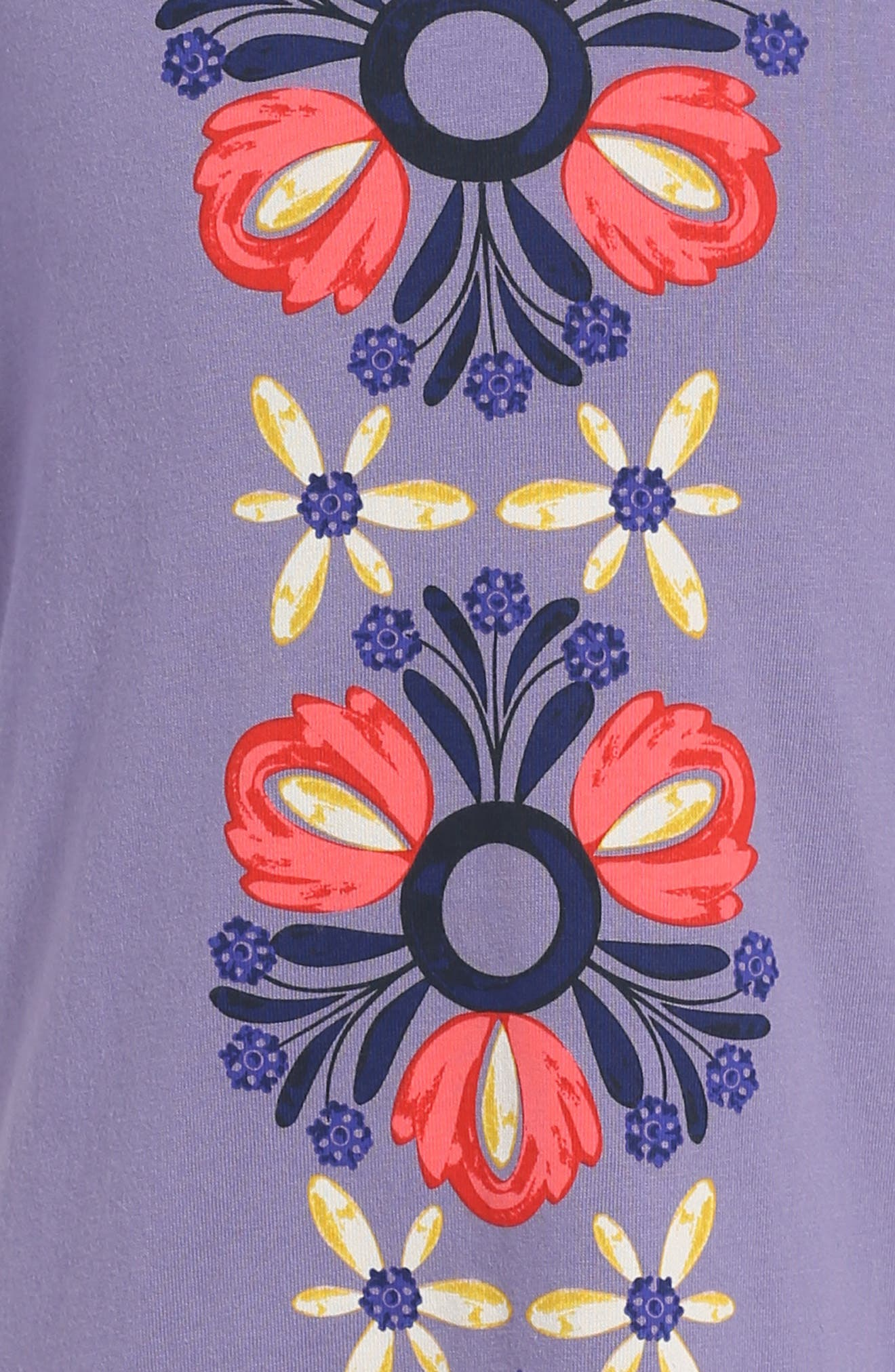 Alternate Image 3  - Tea Collection Bosta Graphic Print Dress (Toddler Girls, Little Girls & Big Girls)