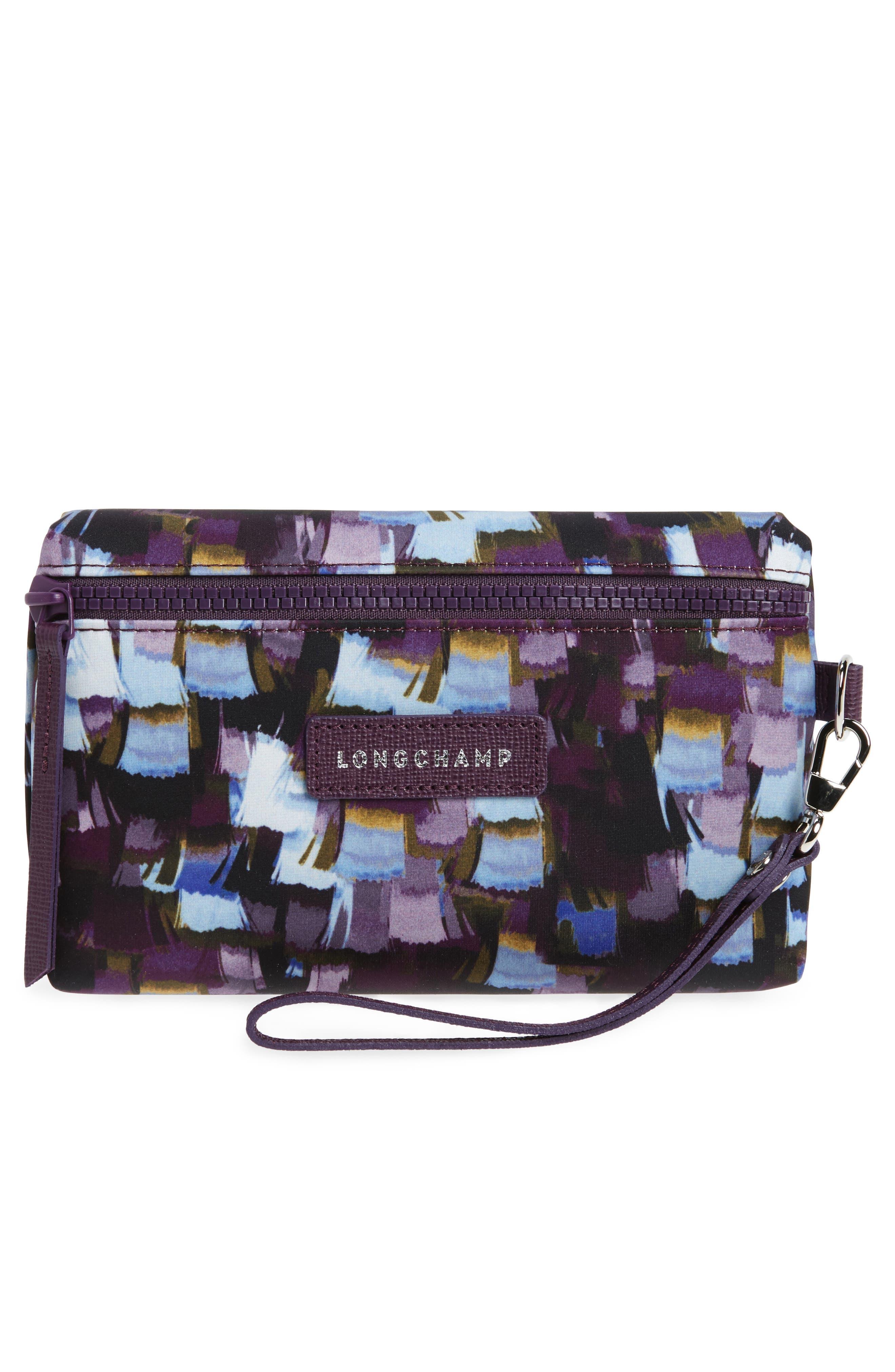 Alternate Image 1 Selected - Longchamp Le Pliage Neo - Vibrations Nylon Cosmetics Case