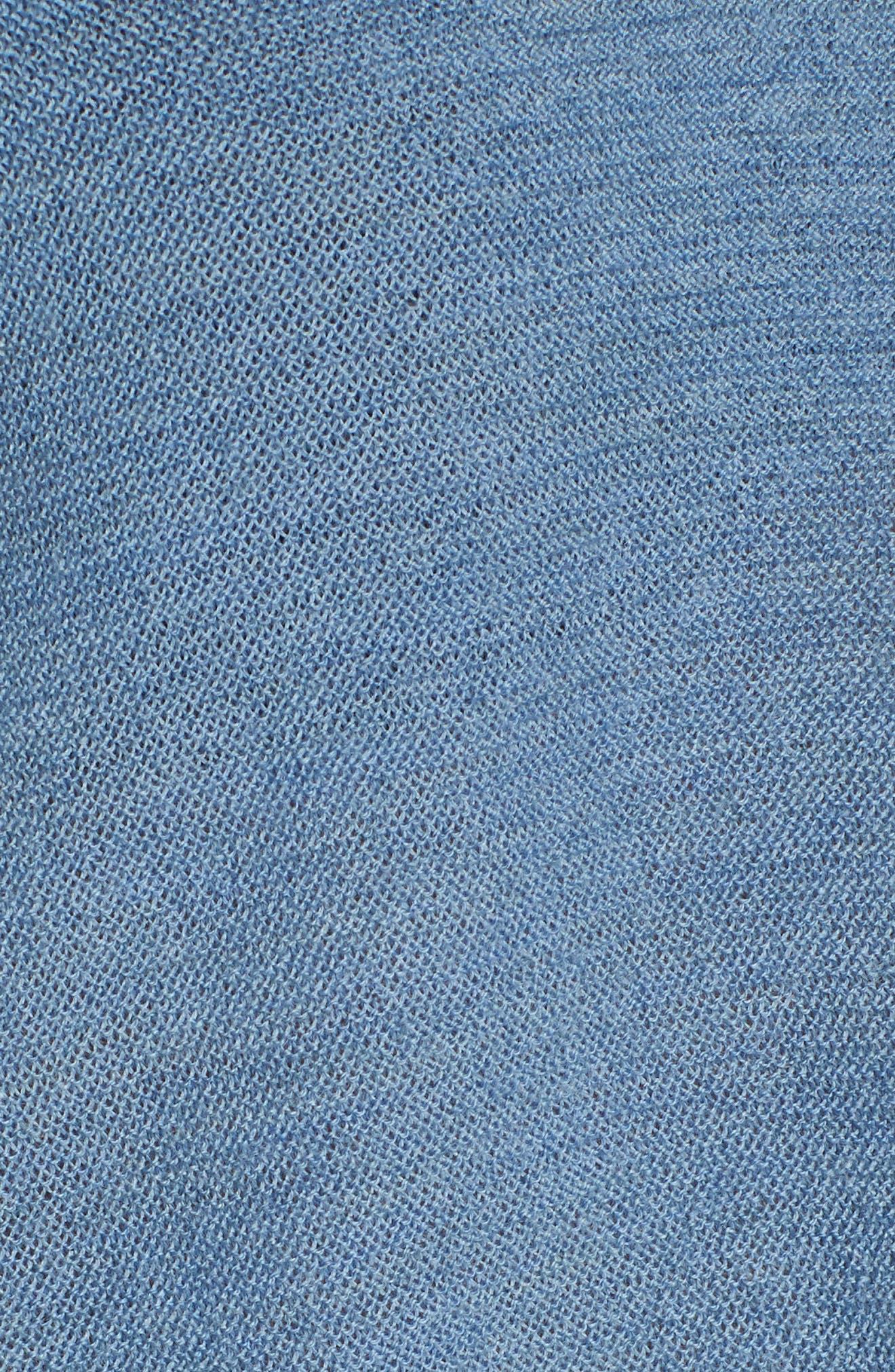 Alternate Image 5  - Eileen Fisher High/Low Merino Wool Sweater