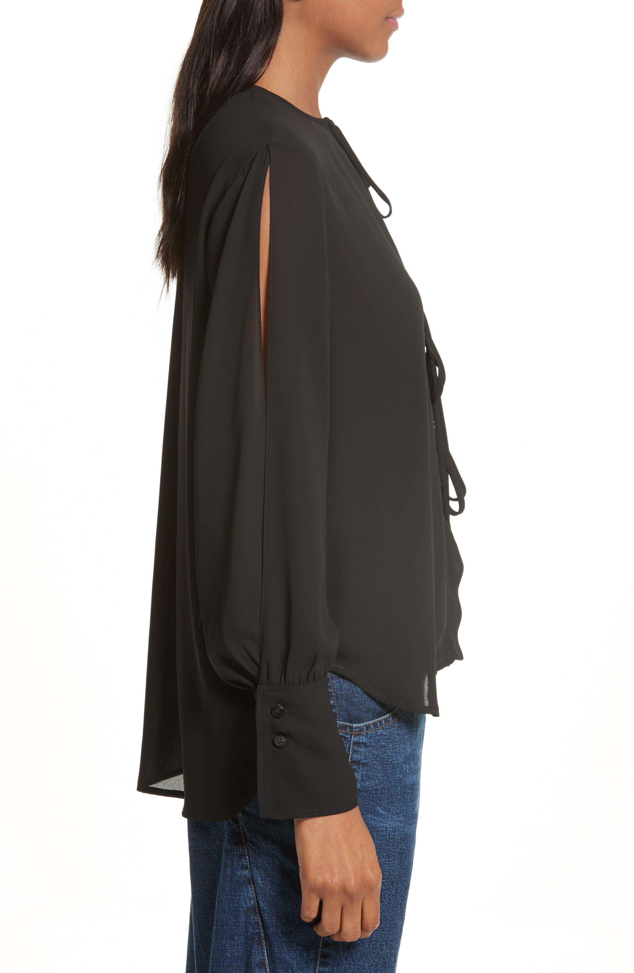 Alternate Image 3  - Rachel Comey Meryl Tie Front Blouse