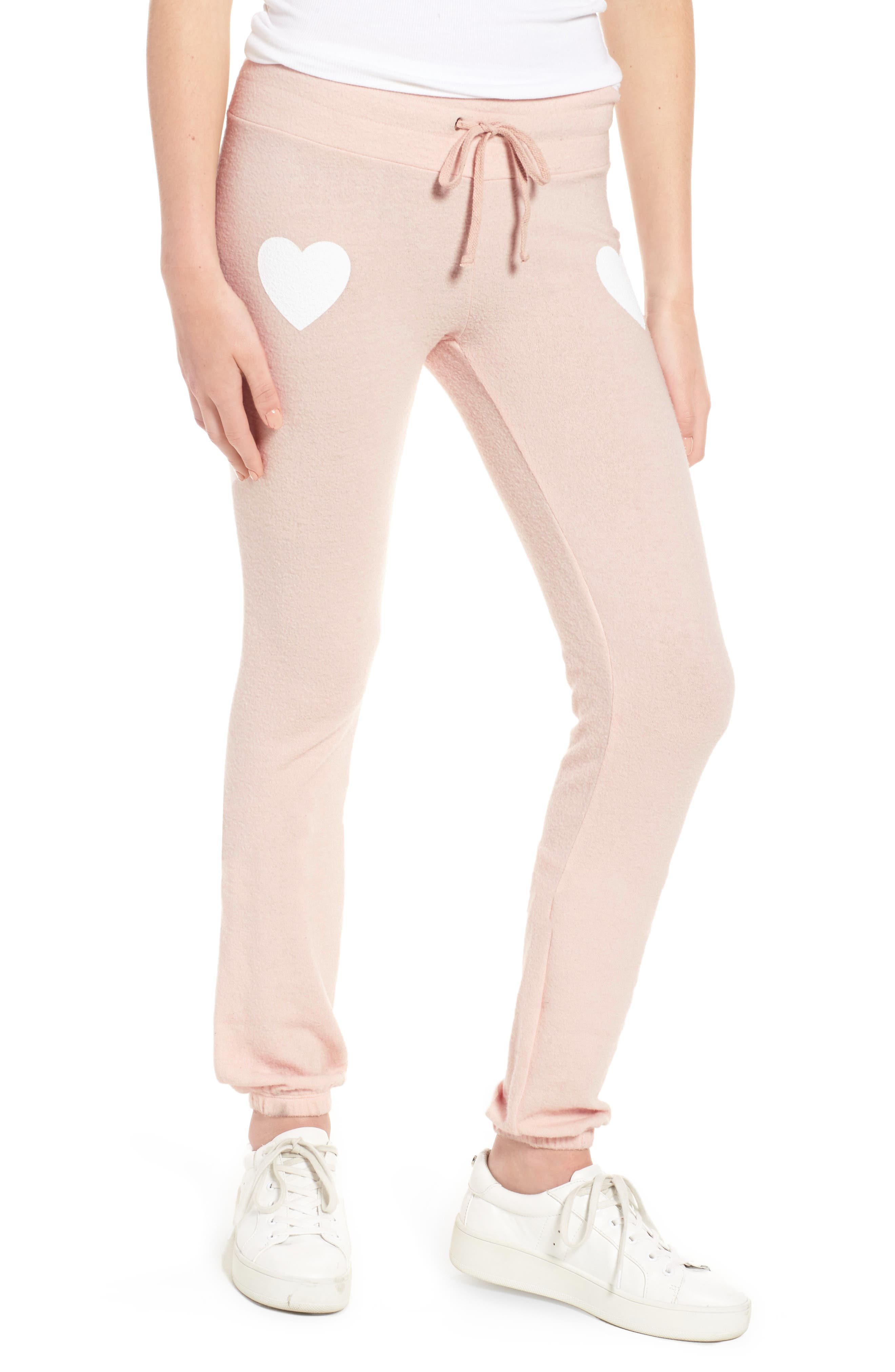 Rosé All Day Skinny Pants,                             Main thumbnail 1, color,                             Rose
