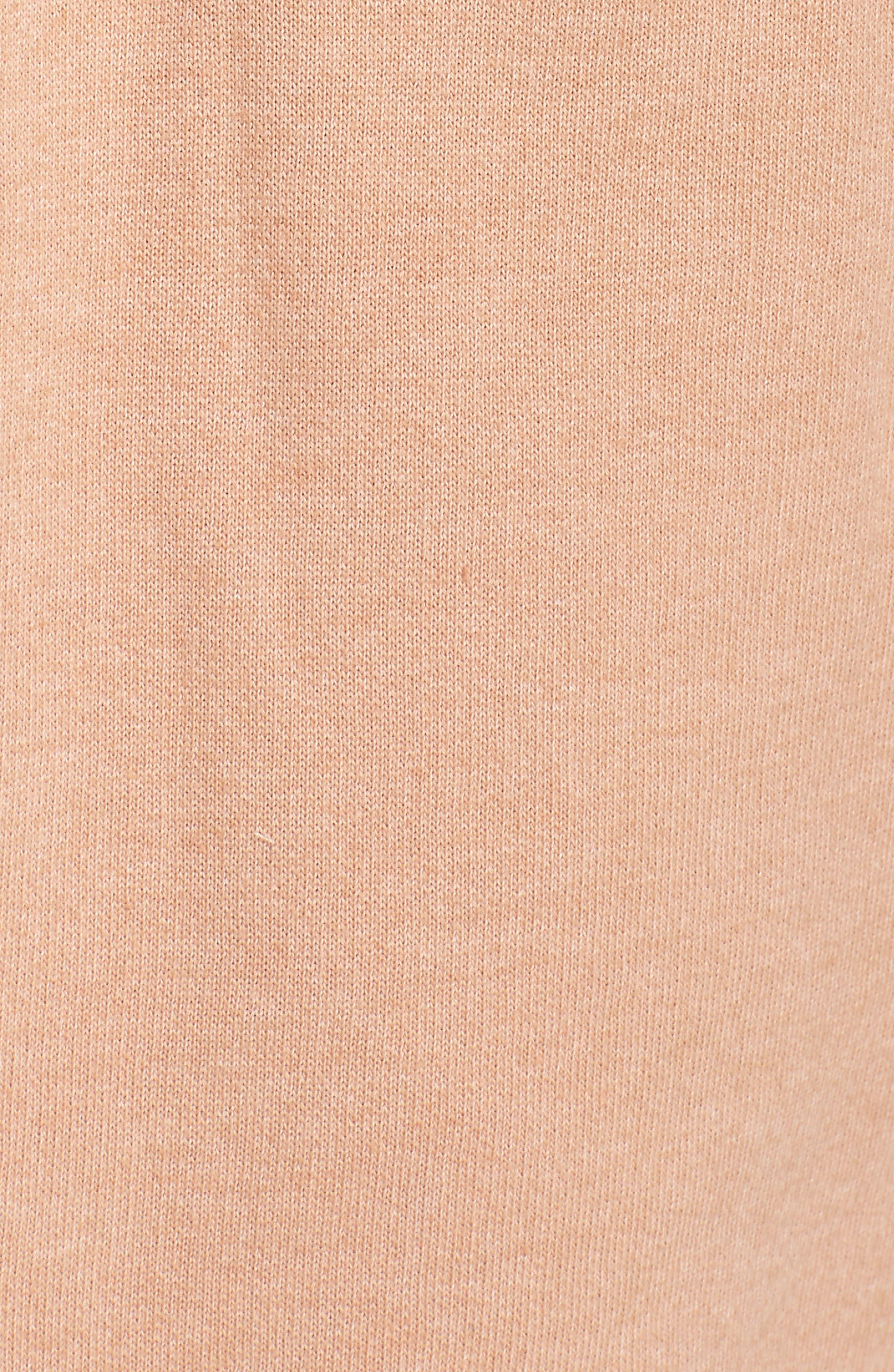 Brunette Jogger Pants,                             Alternate thumbnail 5, color,                             Rose