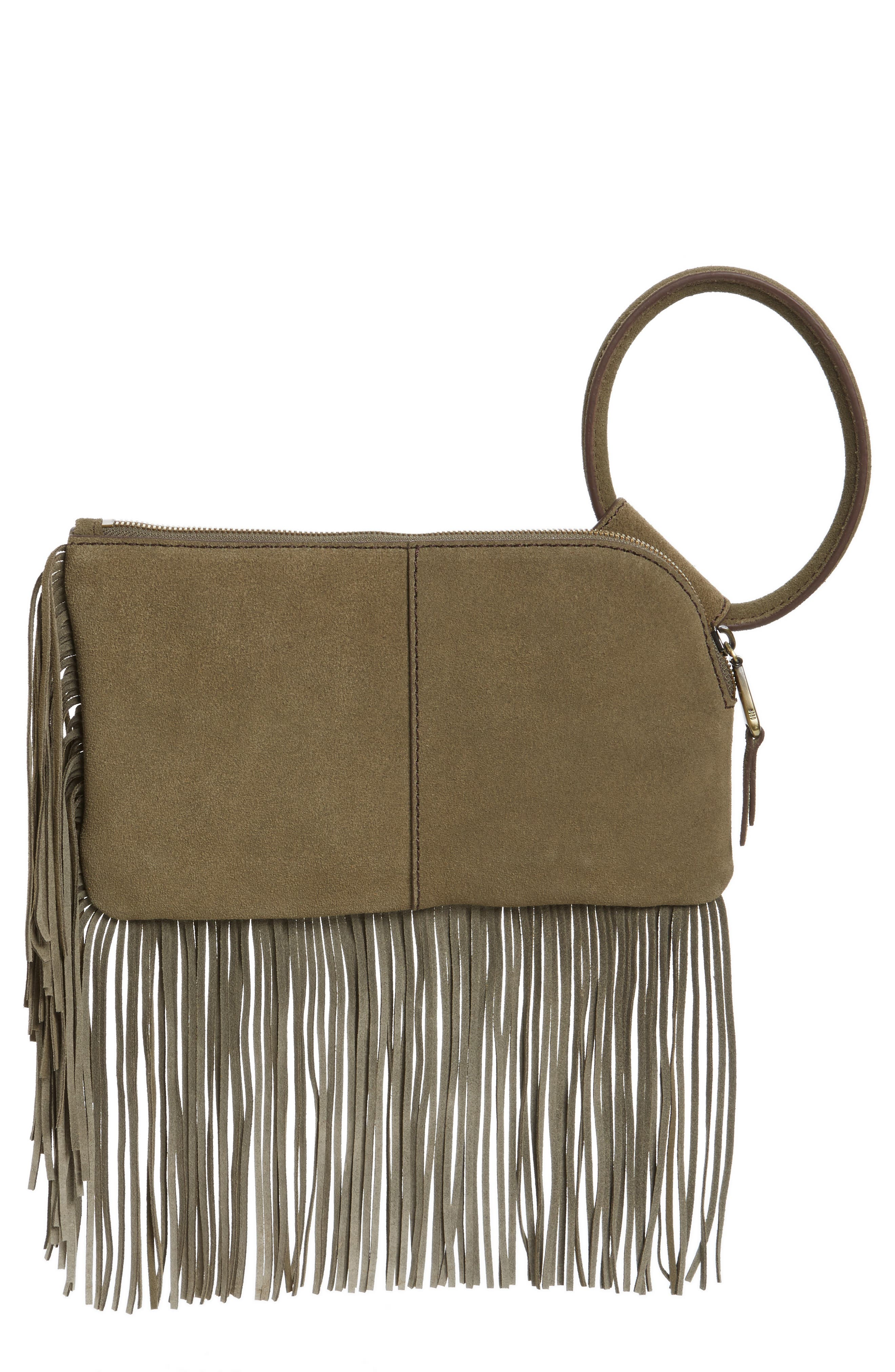 Alternate Image 1 Selected - Hobo Sable Leather Clutch