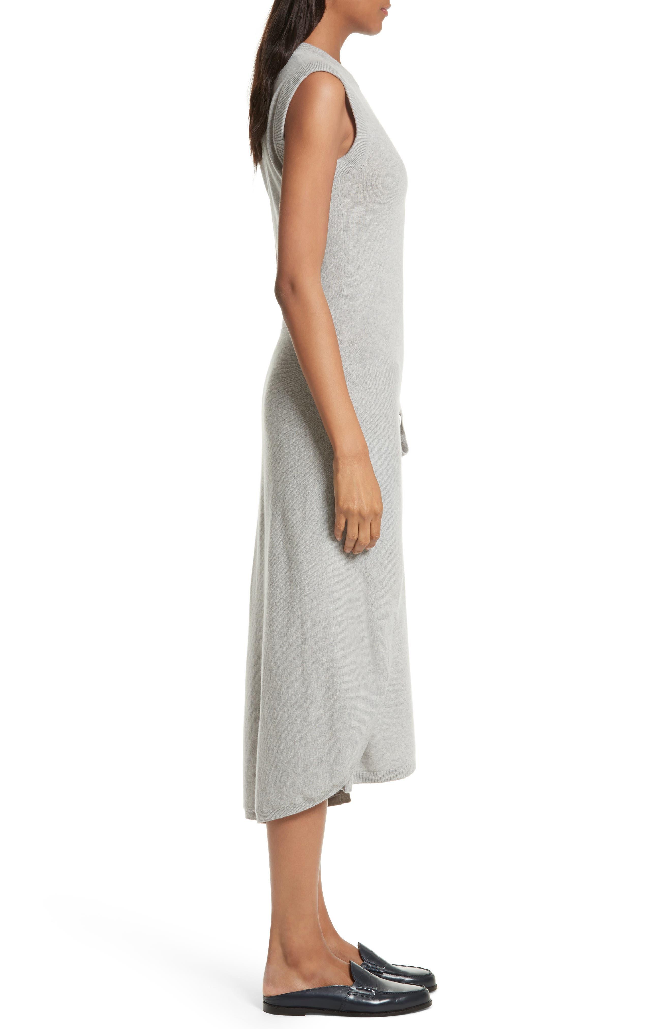 Alternate Image 3  - Joseph Tie Front Wool Sweater Dress
