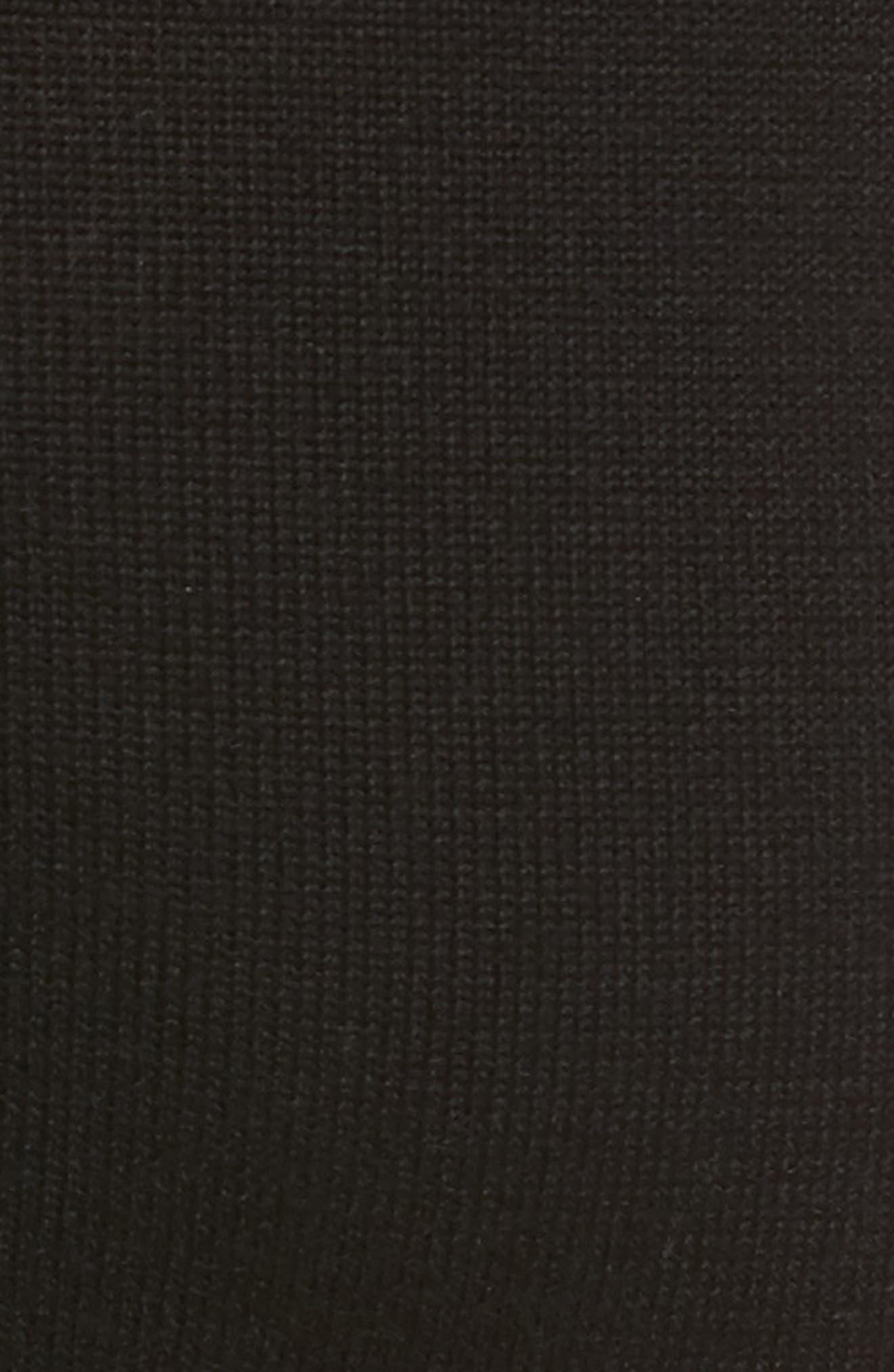 Alternate Image 5  - KENDALL + KYLIE Tie Front Turtleneck Dress