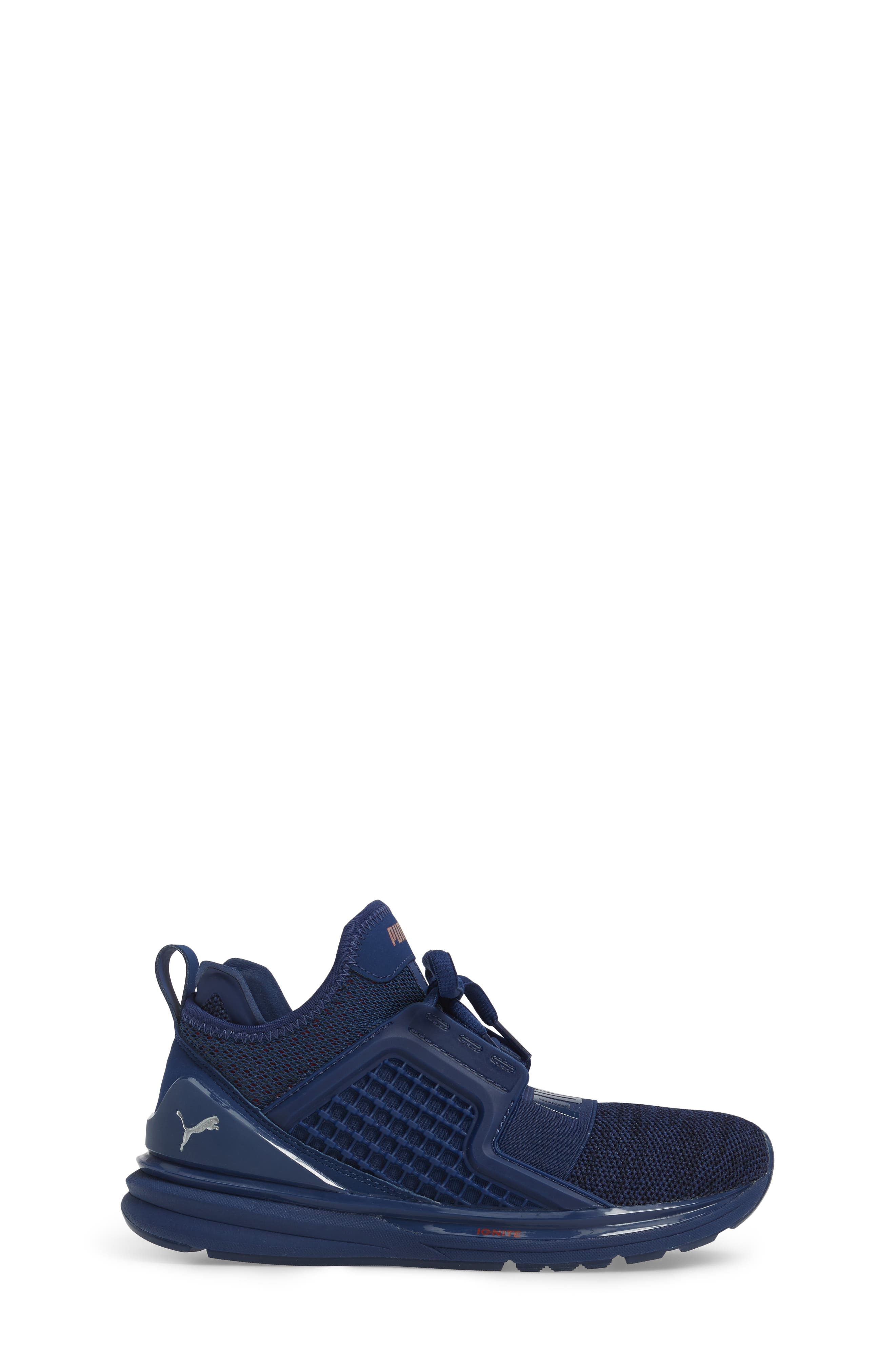Ignite Limitless Sneaker,                             Alternate thumbnail 3, color,                             Blue