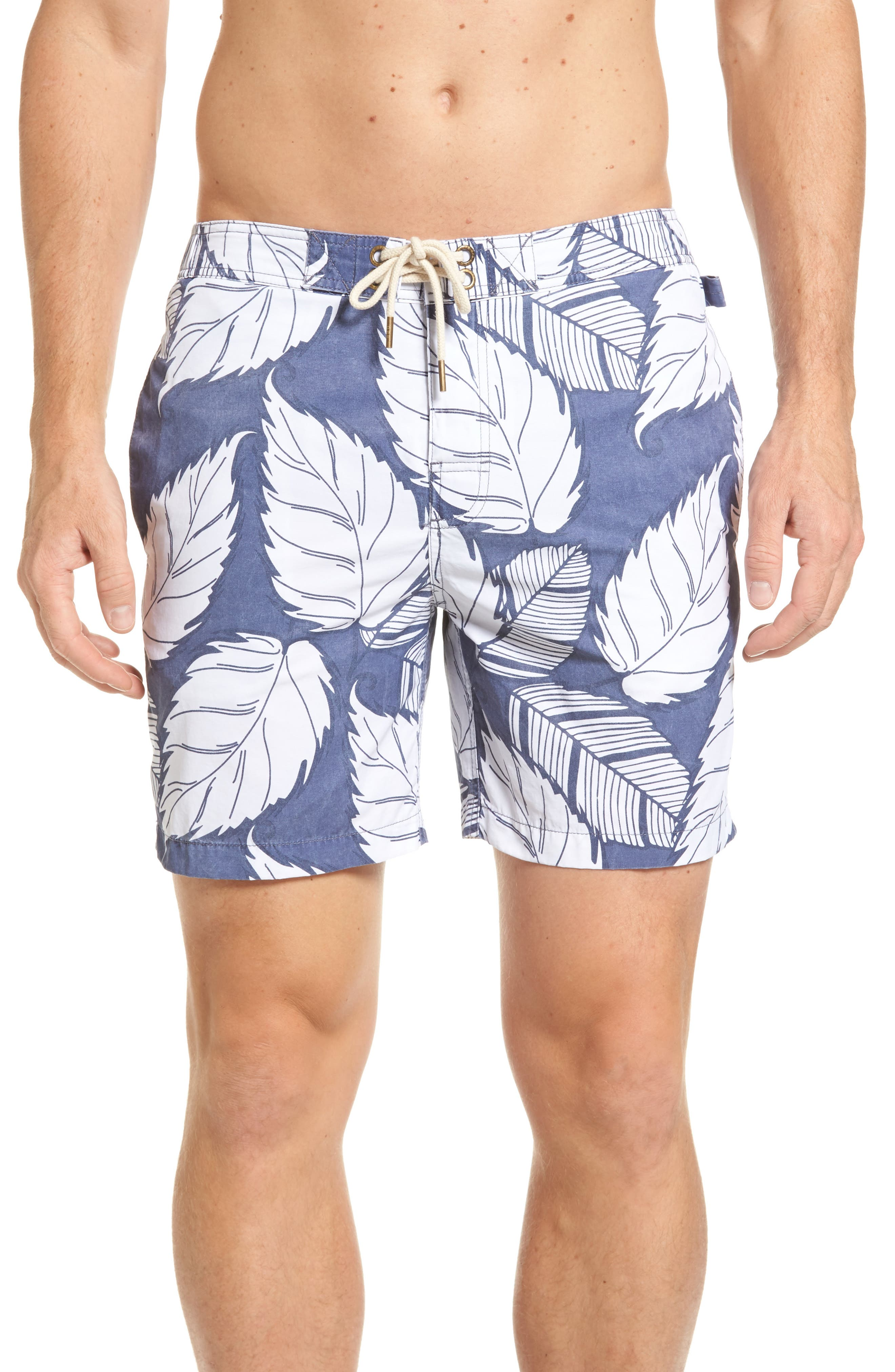 Montauk Board Shorts,                         Main,                         color, Navy
