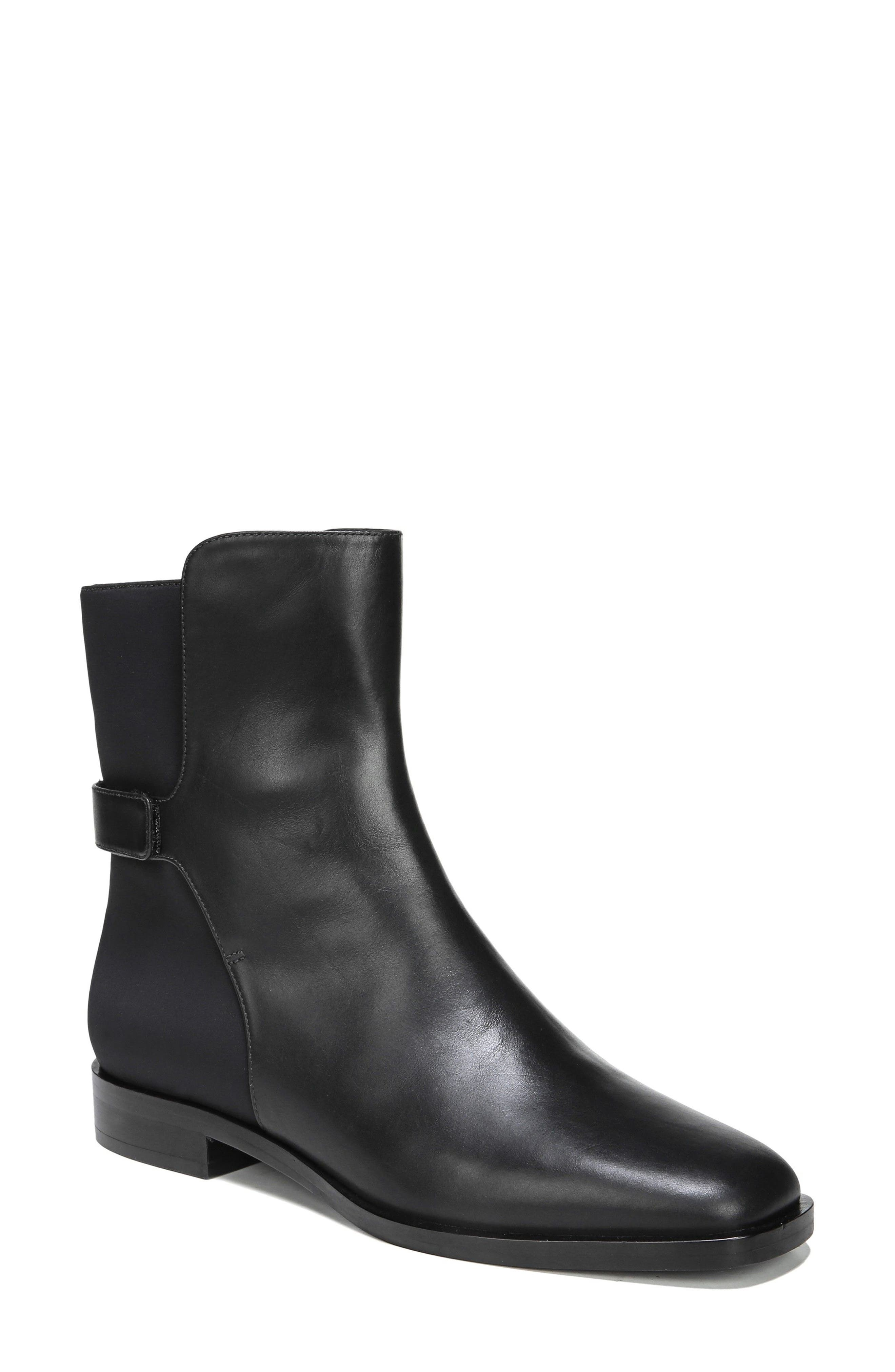Vaughan Boot,                             Main thumbnail 1, color,                             Black Leather