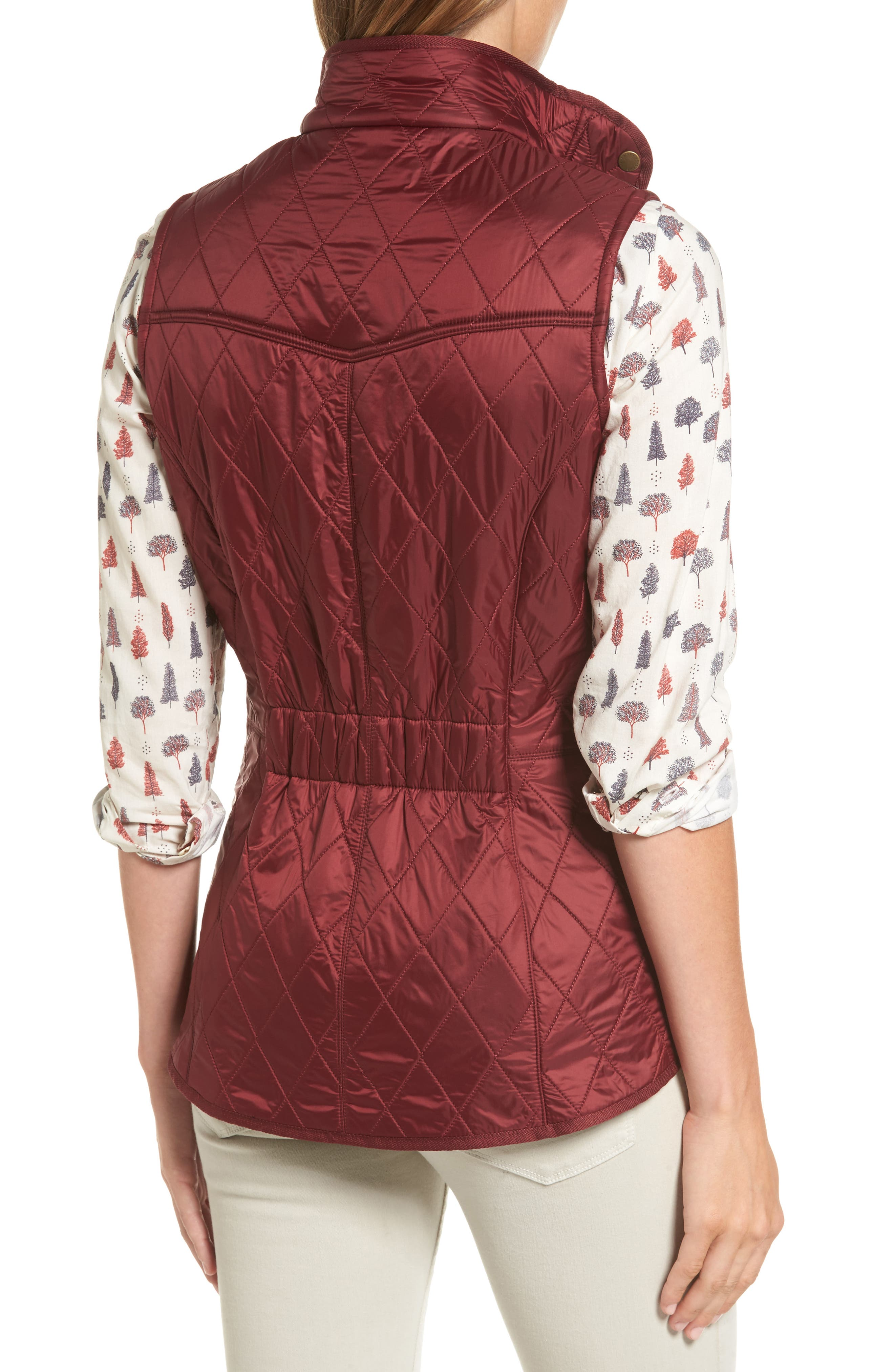 Alternate Image 2  - Barbour 'Cavalry' Quilted Vest