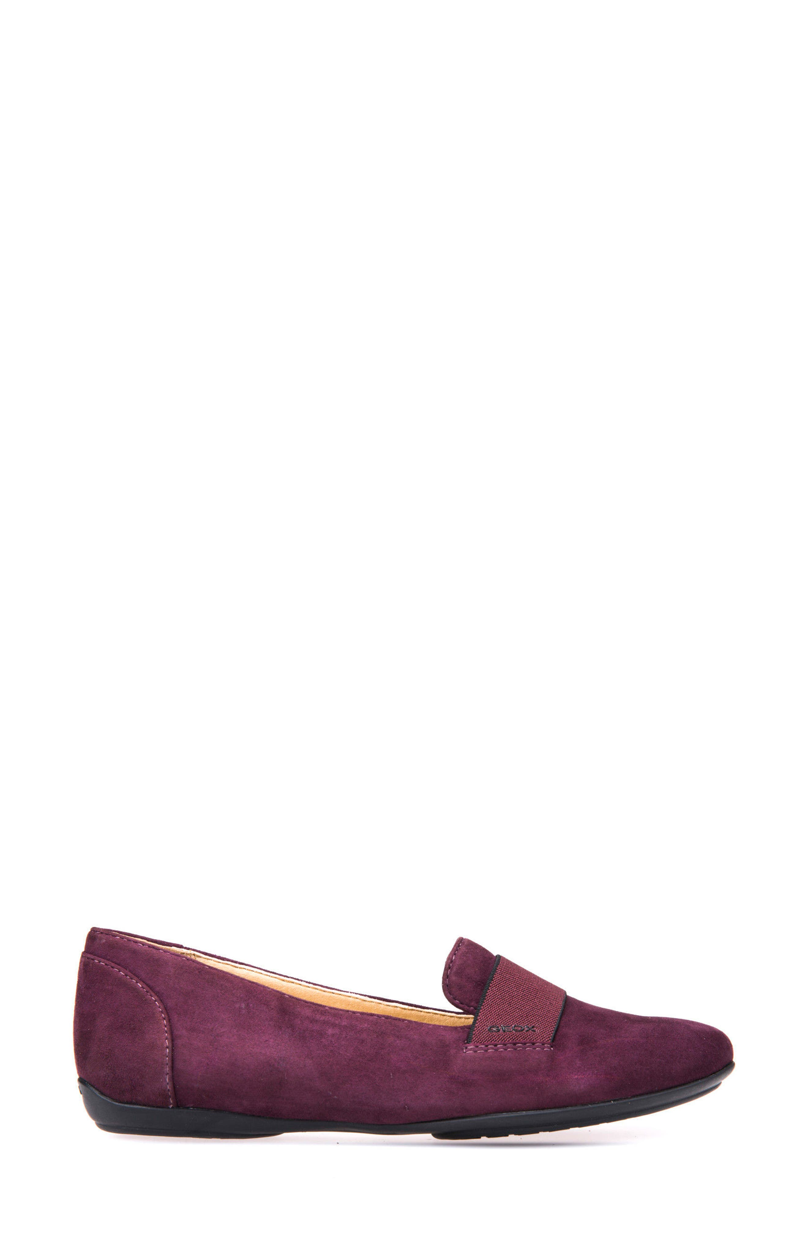 Charlene 17 Flat,                             Alternate thumbnail 3, color,                             Prune Leather
