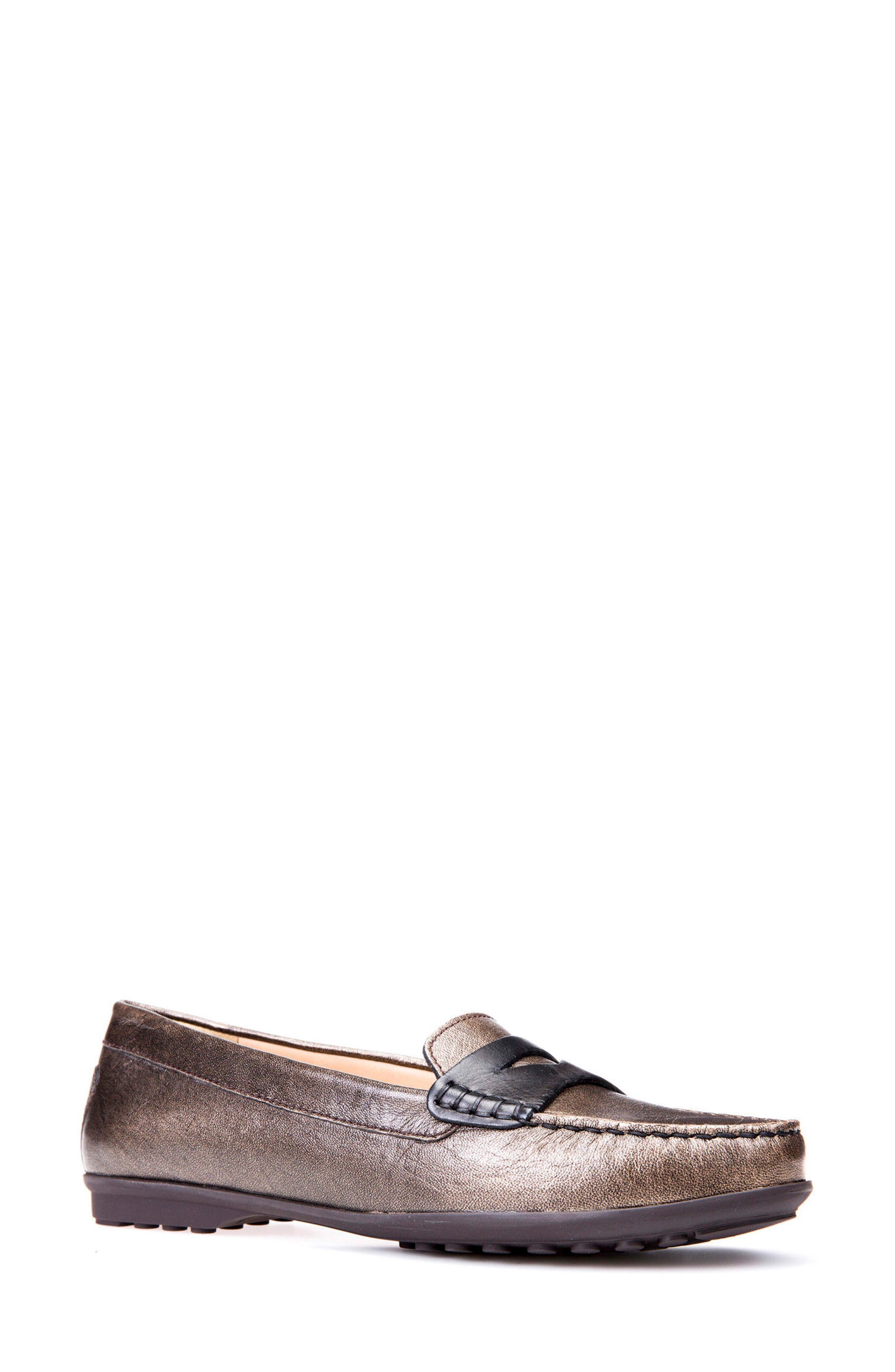 Alternate Image 1 Selected - Geox Elidia 5 Penny Loafer (Women)