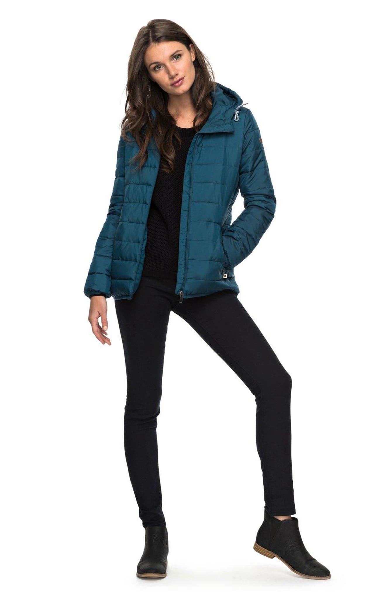 Forever Freely Puffer Jacket,                             Alternate thumbnail 2, color,                             Reflecting Pond