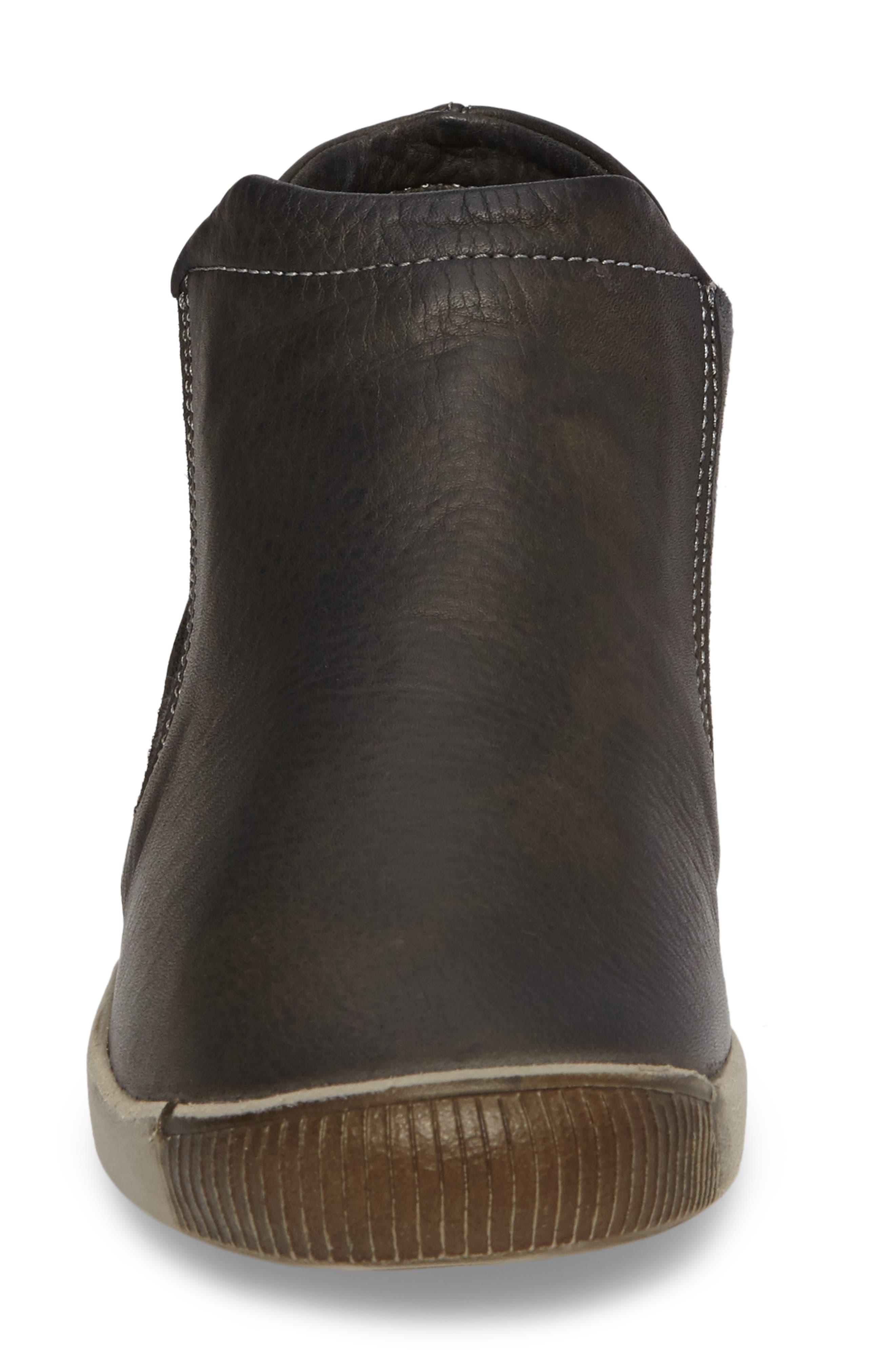 Inge Slip-On Sneaker,                             Alternate thumbnail 4, color,                             Military Leather