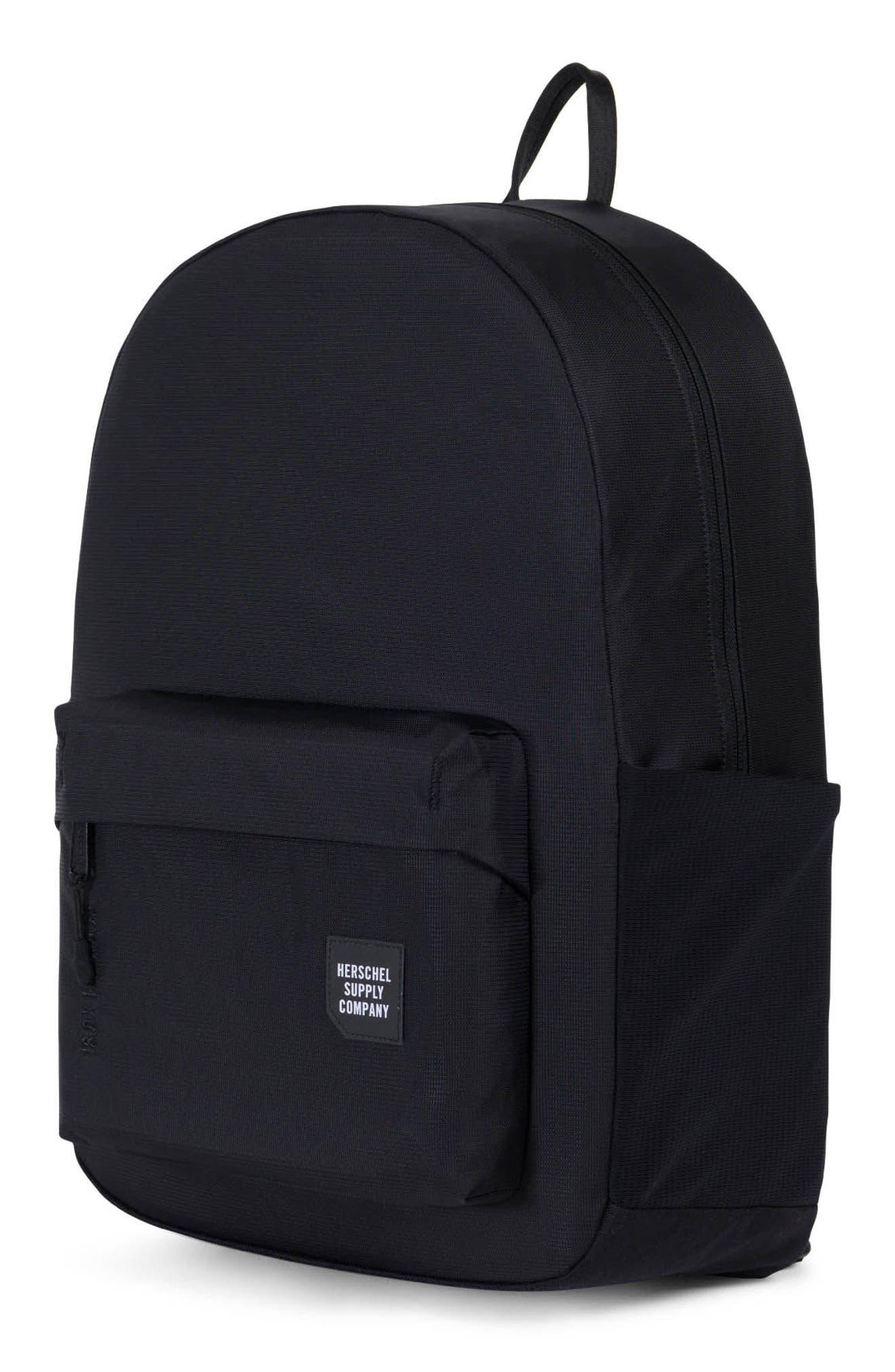 Rundle Trail Backpack,                             Alternate thumbnail 4, color,                             Black