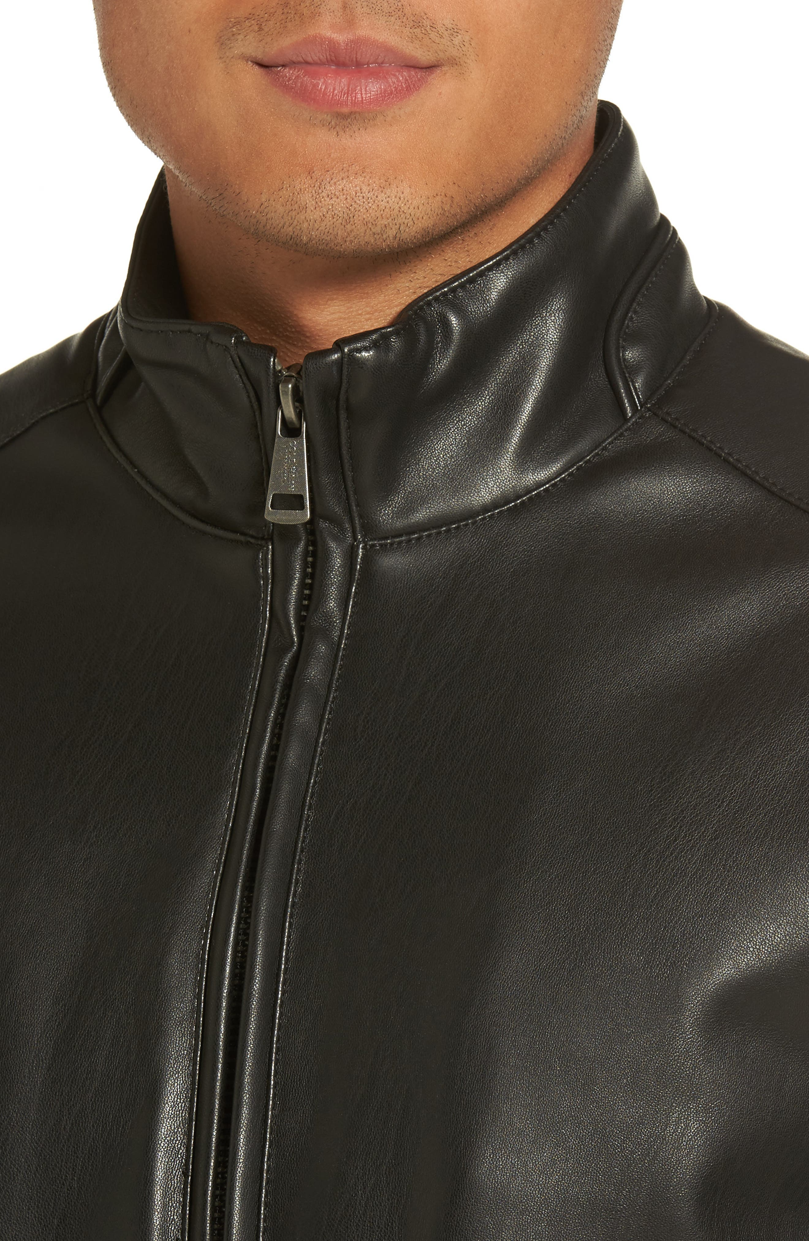 Alternate Image 4  - Cole Haan Faux Leather Jacket