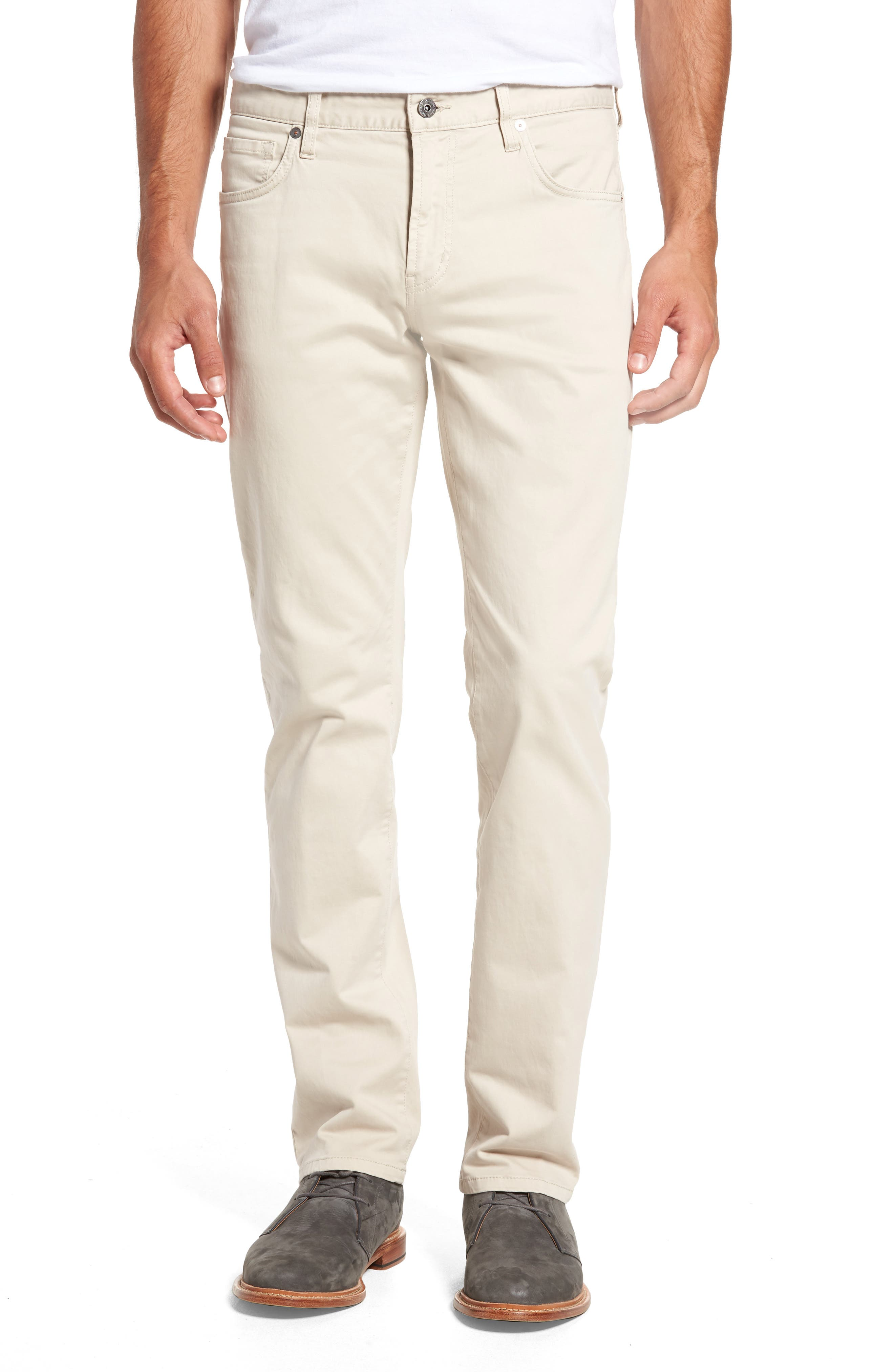 7 Diamonds Brushed Twill Five-Pocket Pants
