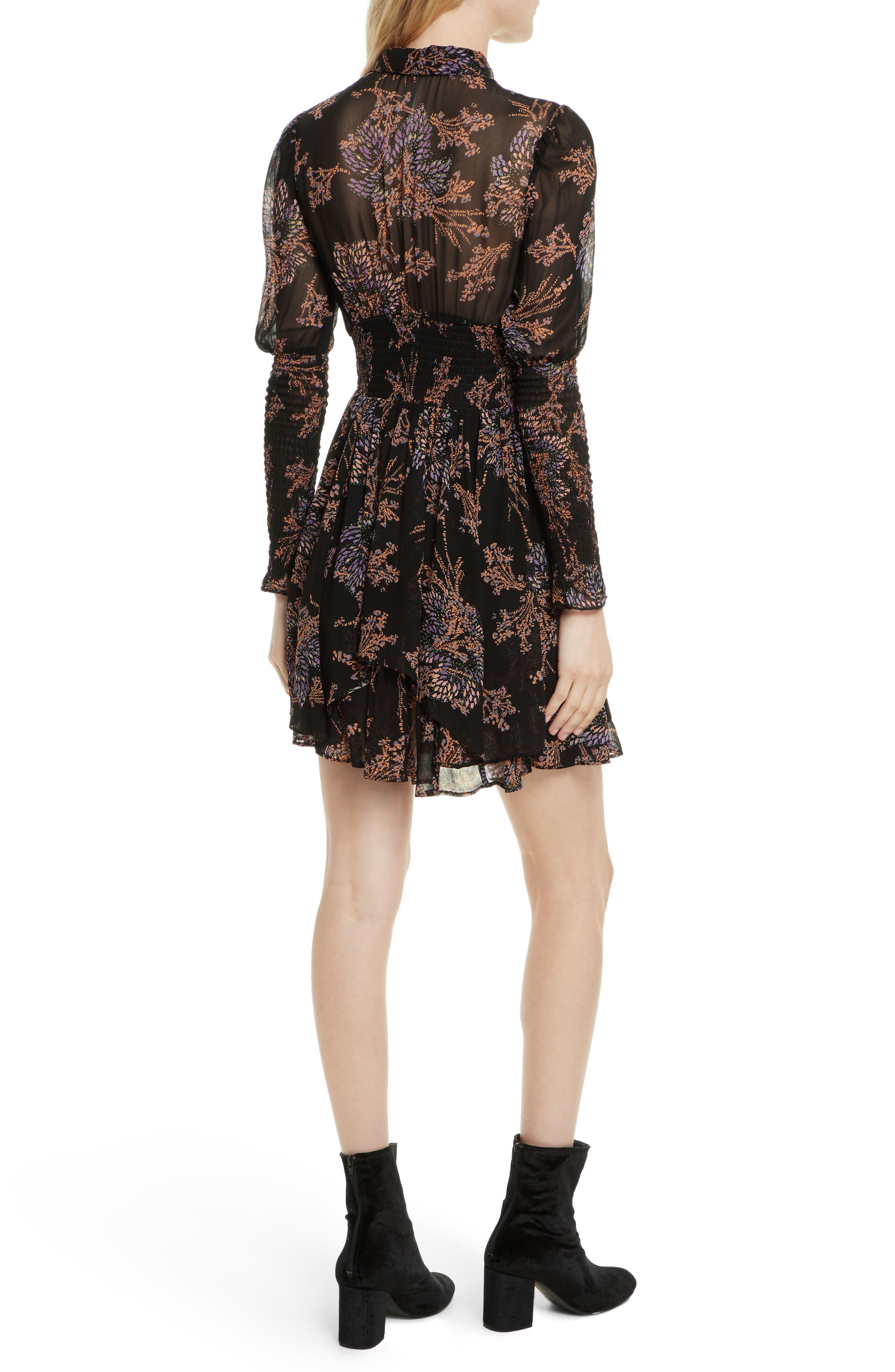 Fake Pretend Babydoll Dress,                             Alternate thumbnail 3, color,                             Black Combo