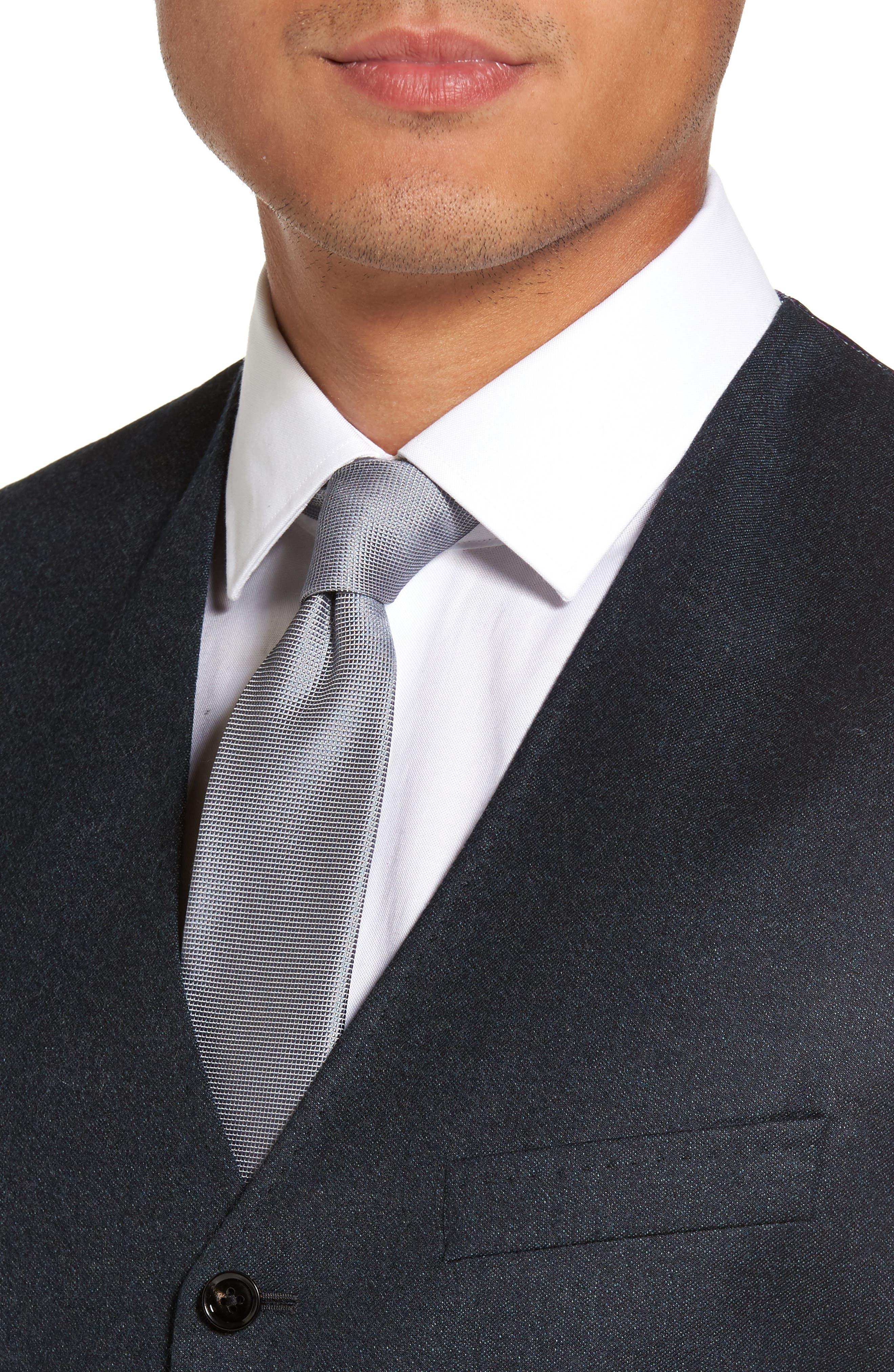 Alternate Image 4  - Ted Baker London Troy Trim Fit Solid Wool Vest