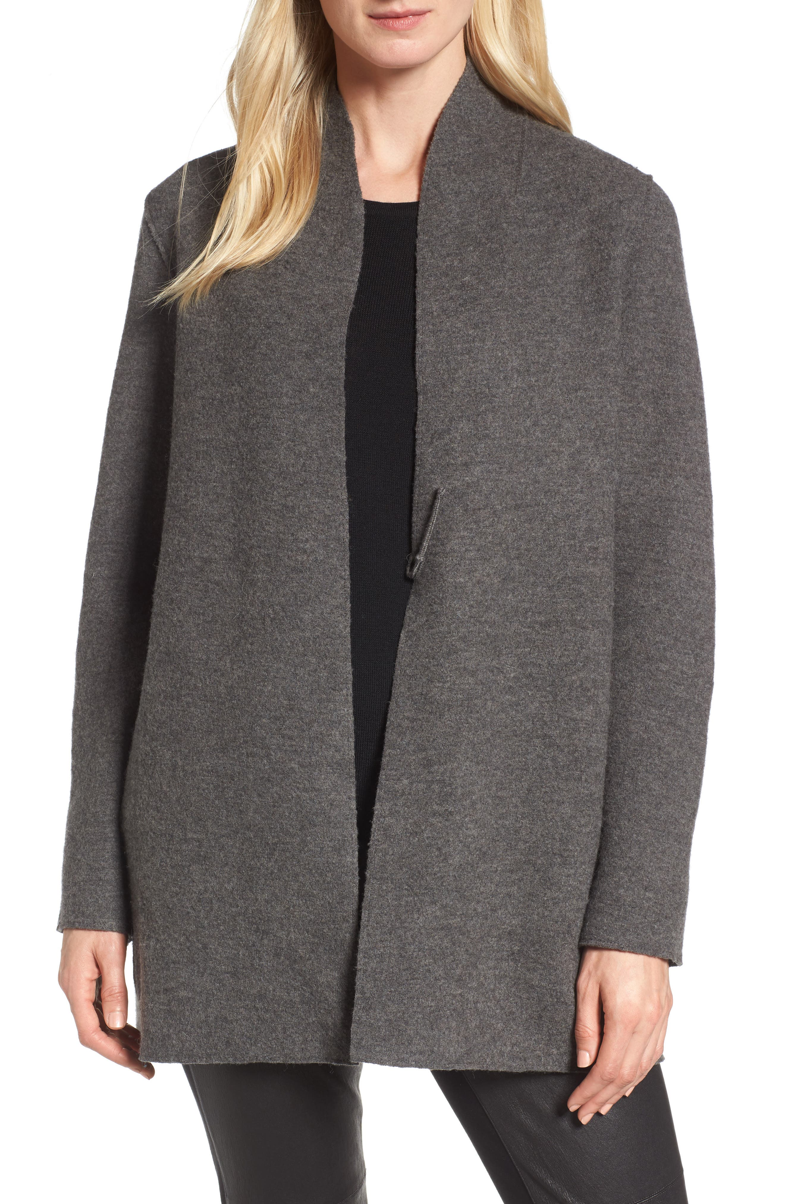 Main Image - Eileen Fisher Boiled Wool Jacket