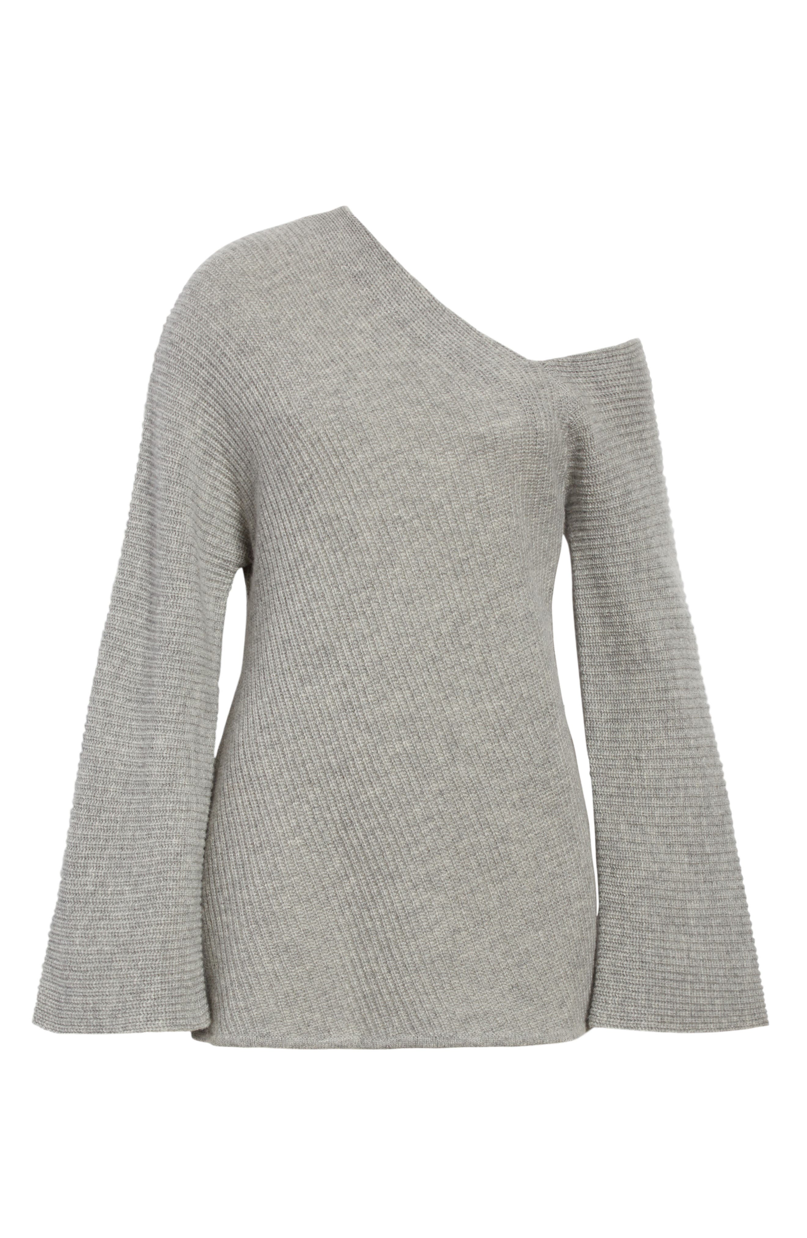Alternate Image 7  - A.L.C. Charly Wool & Cashmere One-Shoulder Sweater
