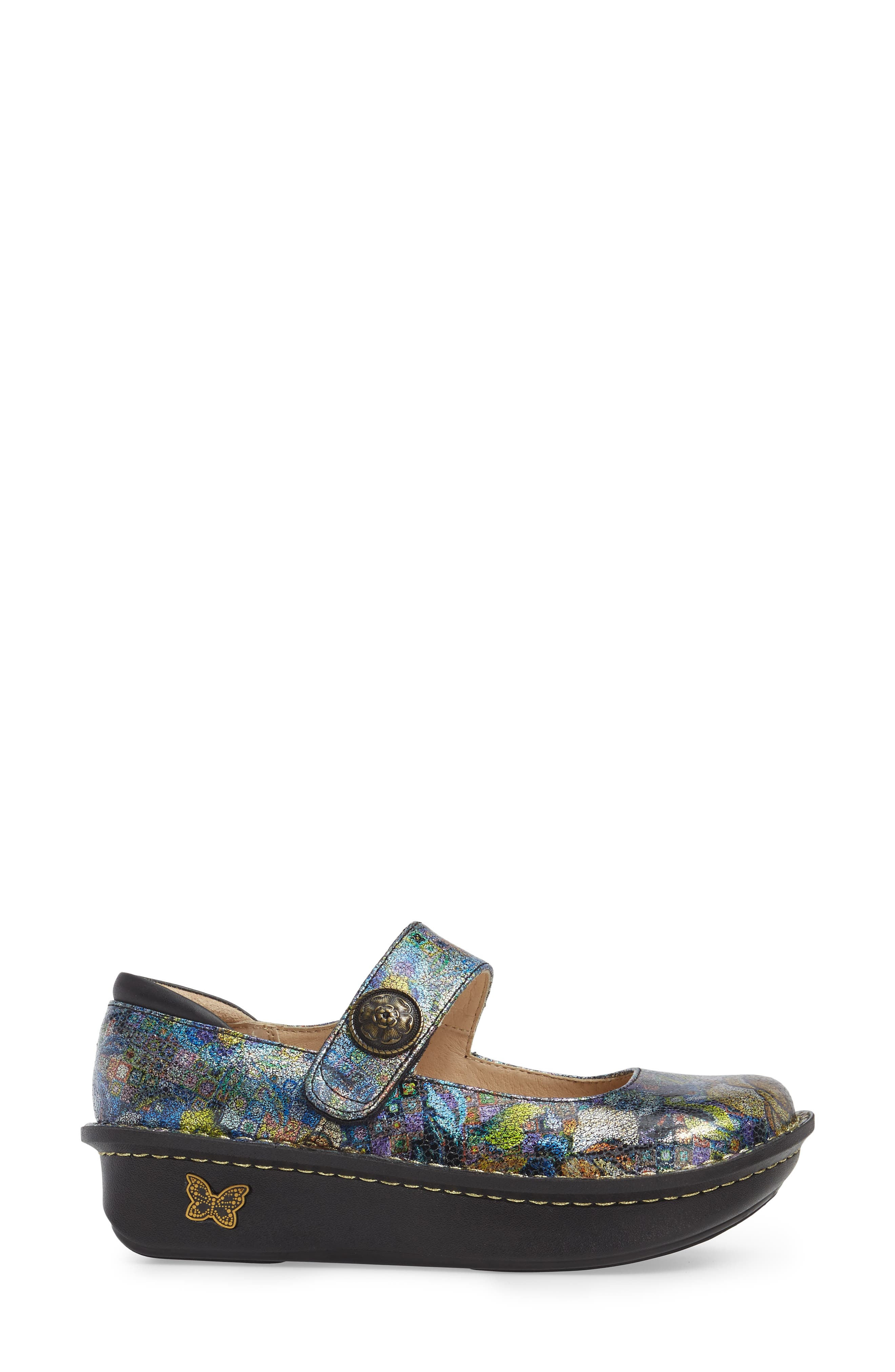 'Paloma' Slip-On,                             Alternate thumbnail 3, color,                             Gypsy Rose Leather