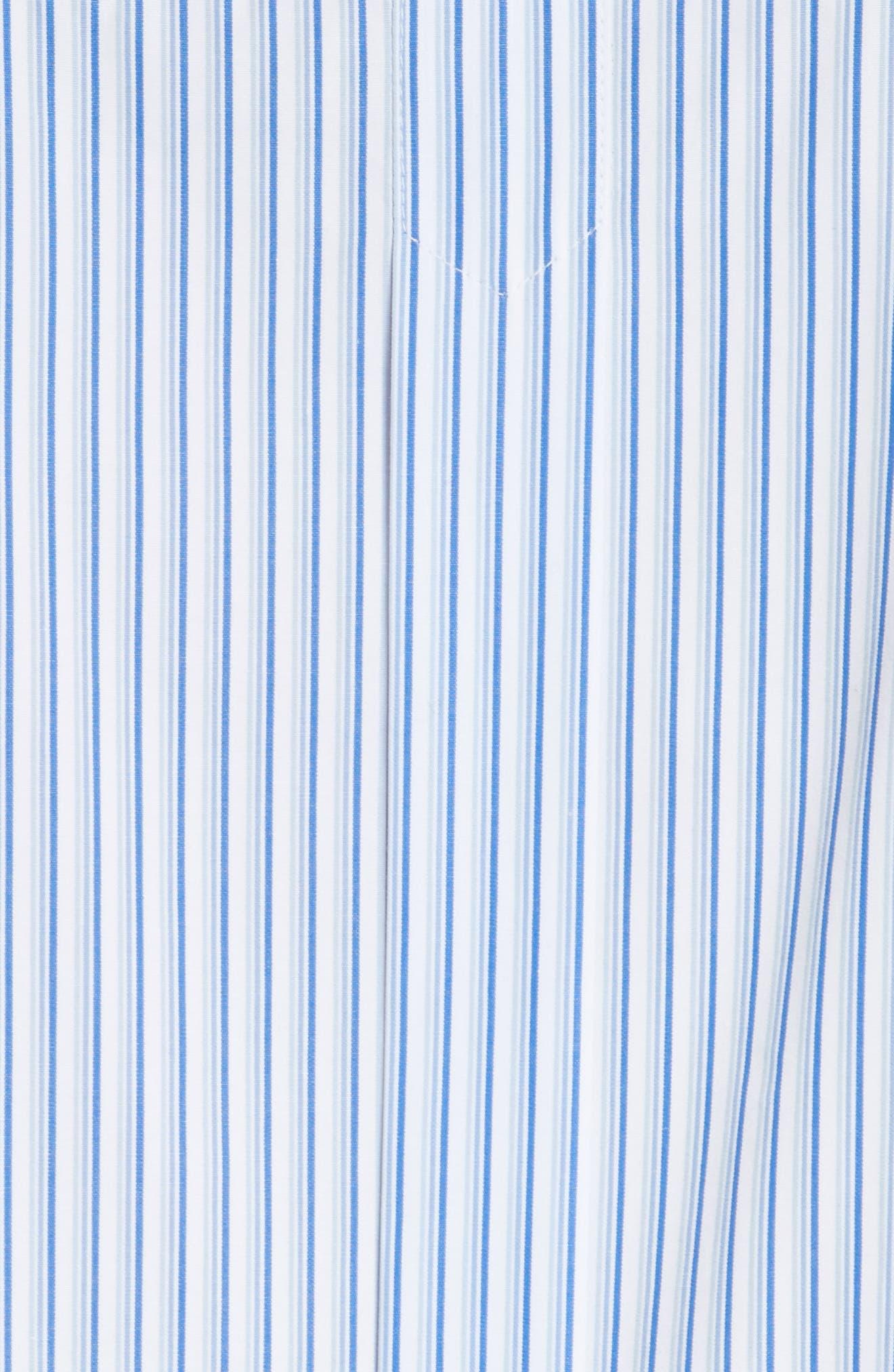 Alternate Image 5  - Tory Burch Cora Stripe Shirtdress