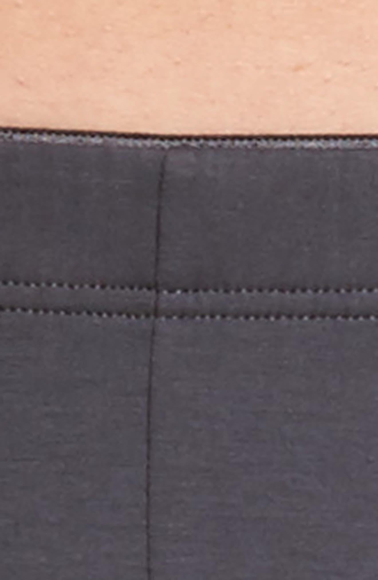 Cotton Superior Boxer Briefs,                             Alternate thumbnail 4, color,                             Coal Grey