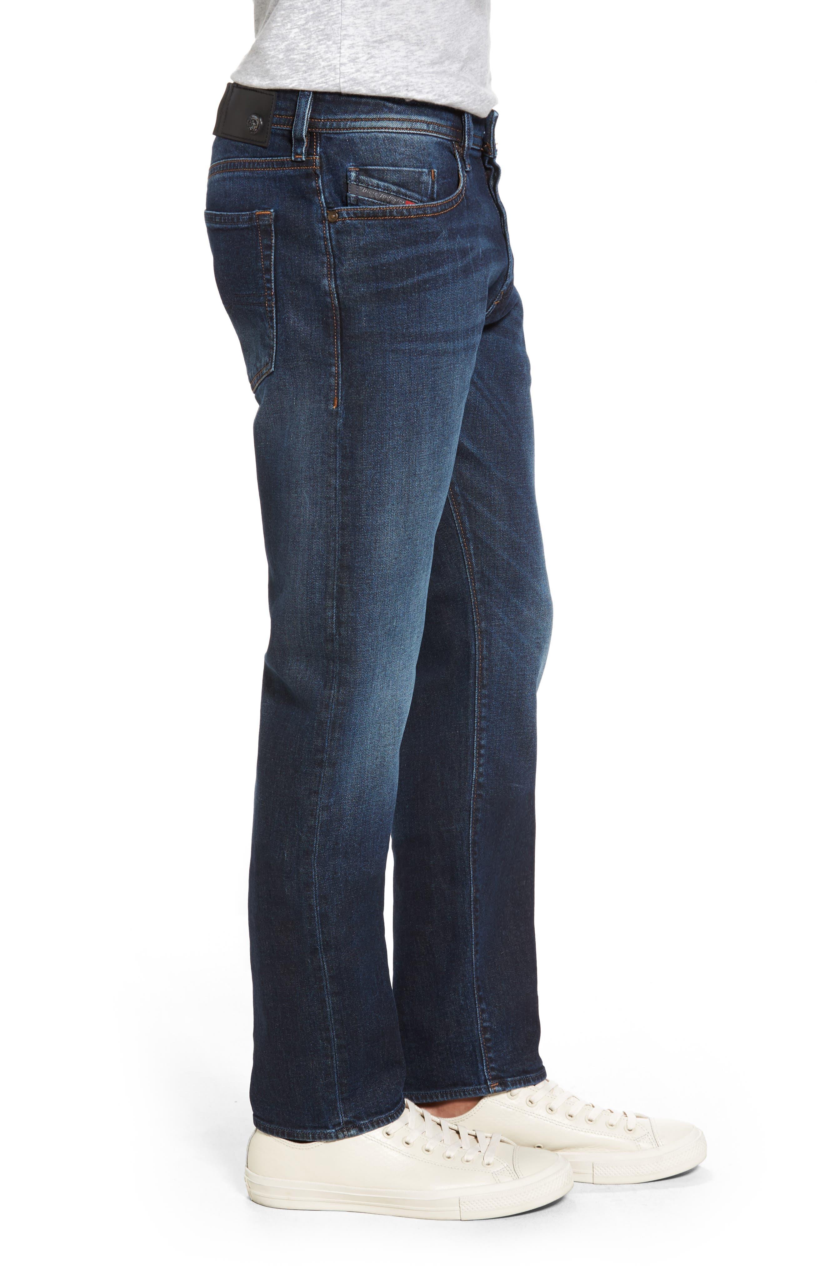 Alternate Image 3  - DIESEL® Buster Slim Straight Leg Jeans (0857Y)