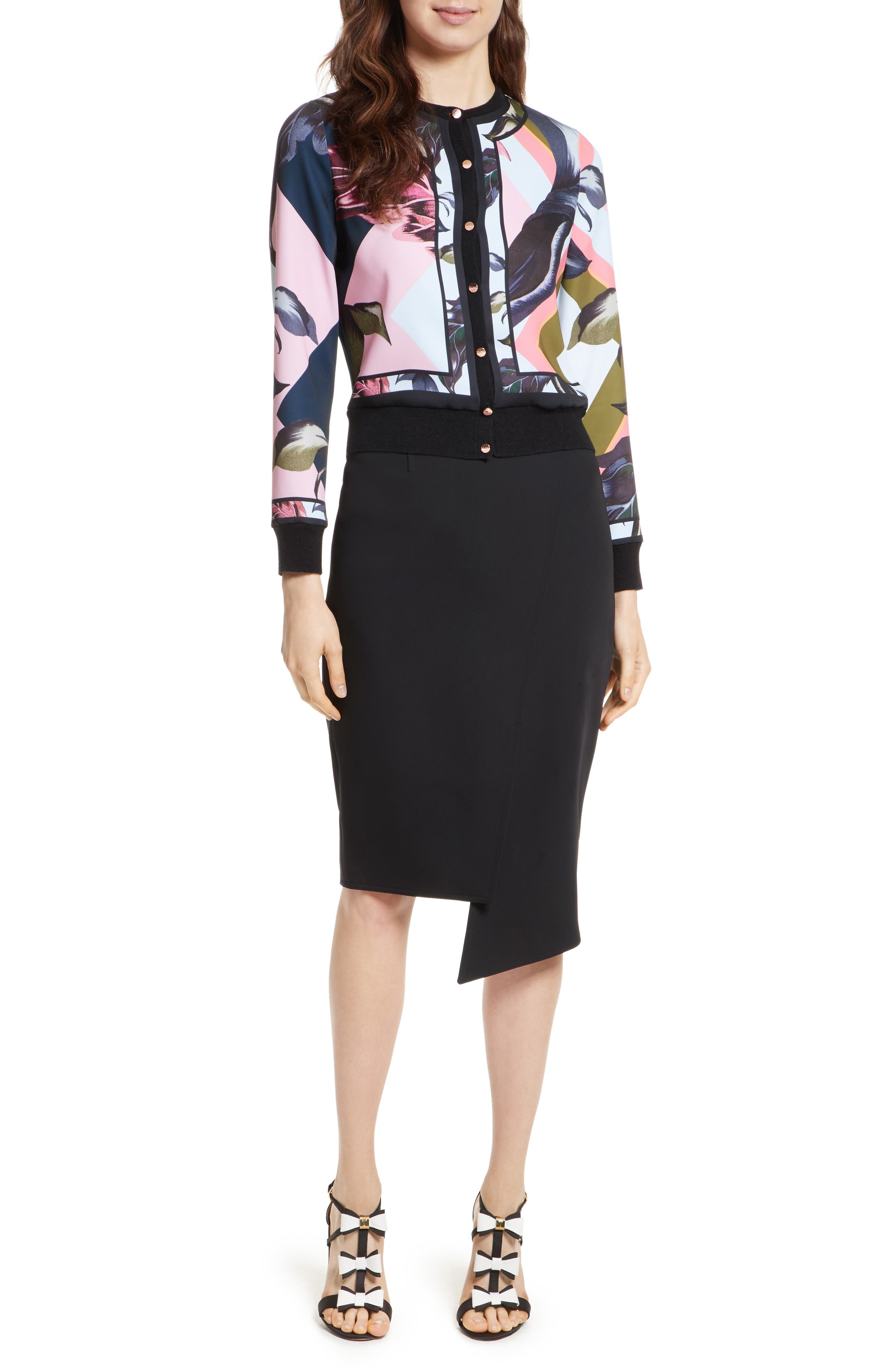 Ted Baker London Aleesh Mississippi Bomber Jacket
