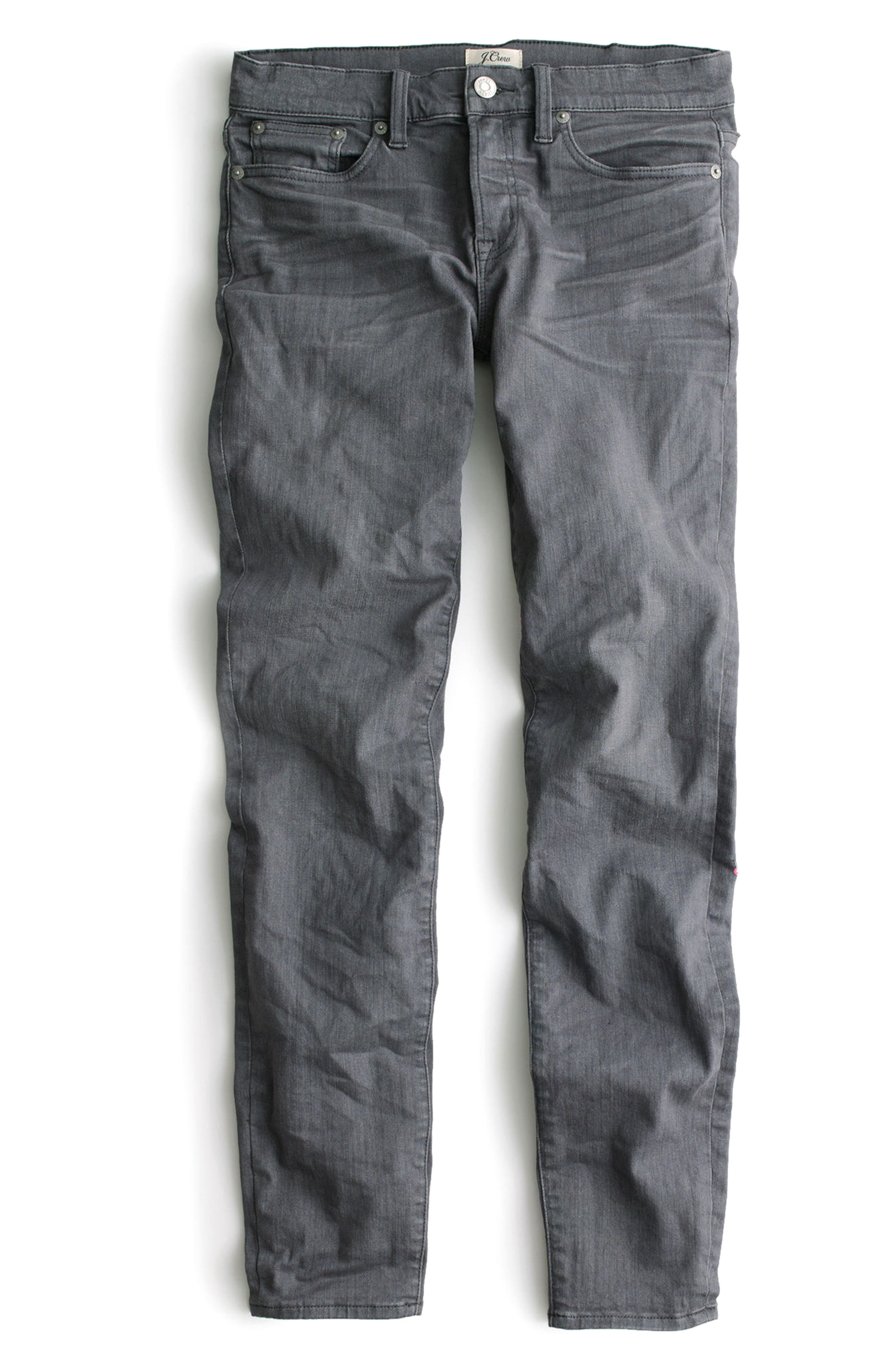 Toothpick Jeans,                             Alternate thumbnail 3, color,                             Grey Dove